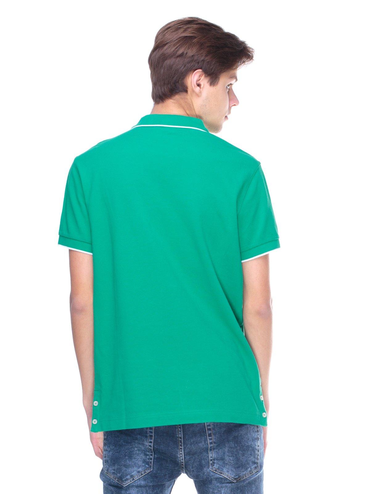Футболка-поло зелена | 2146987 | фото 2