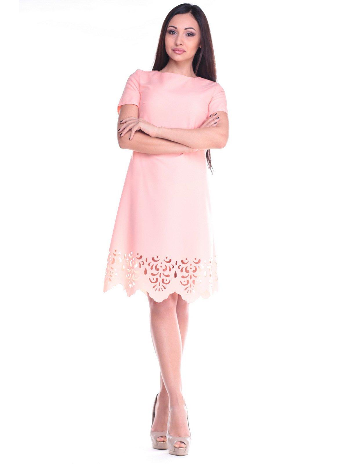 Платье персиковое | 2168470 | фото 5