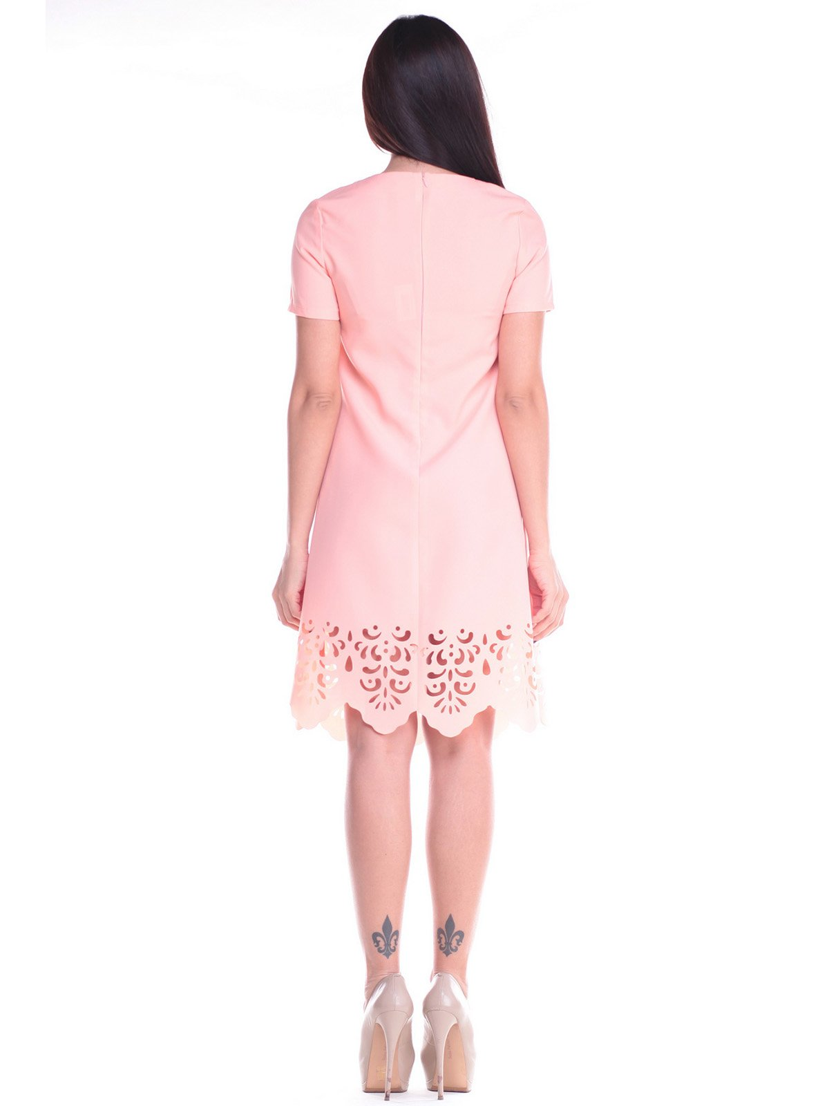 Платье персиковое | 2168470 | фото 2