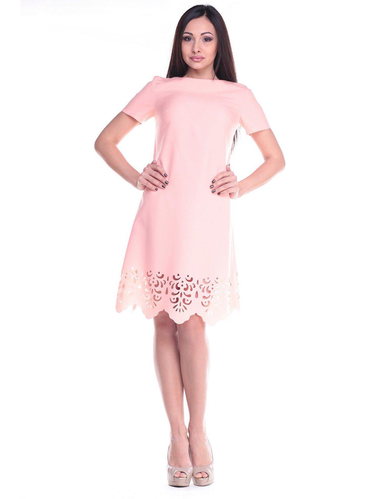 Платье персиковое | 2168470 | фото 4