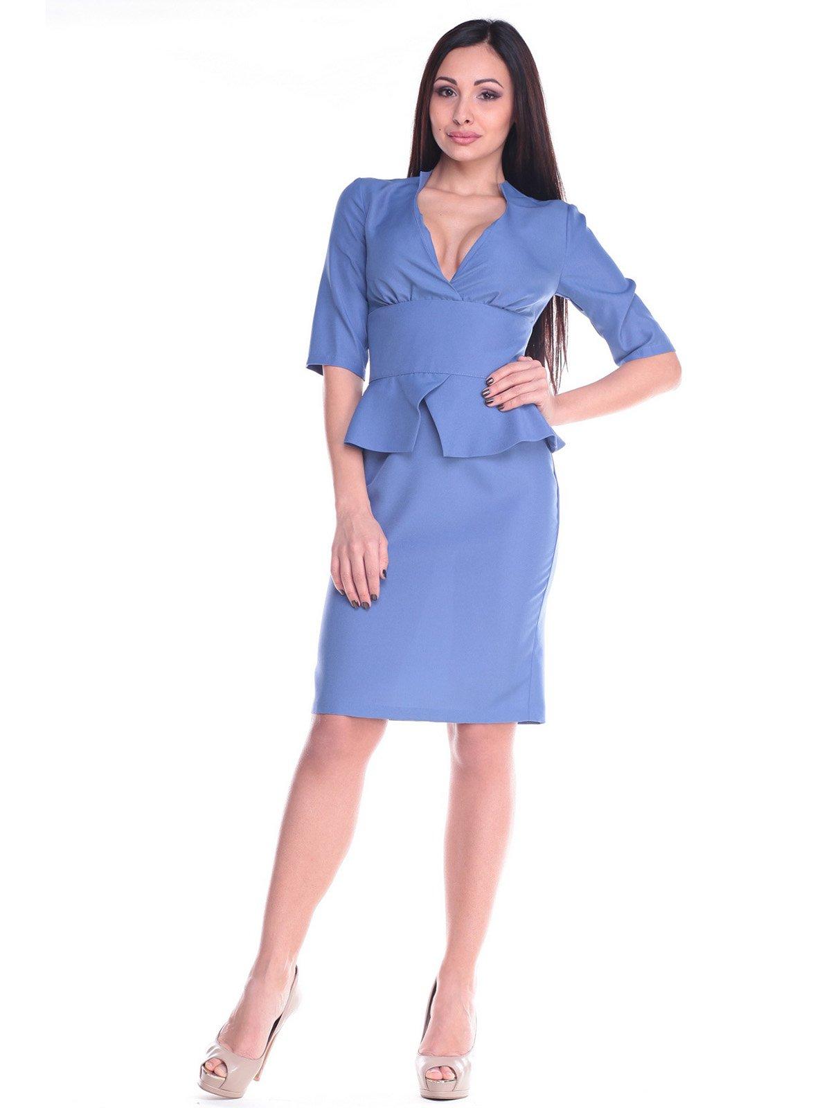 Платье синее   2168482