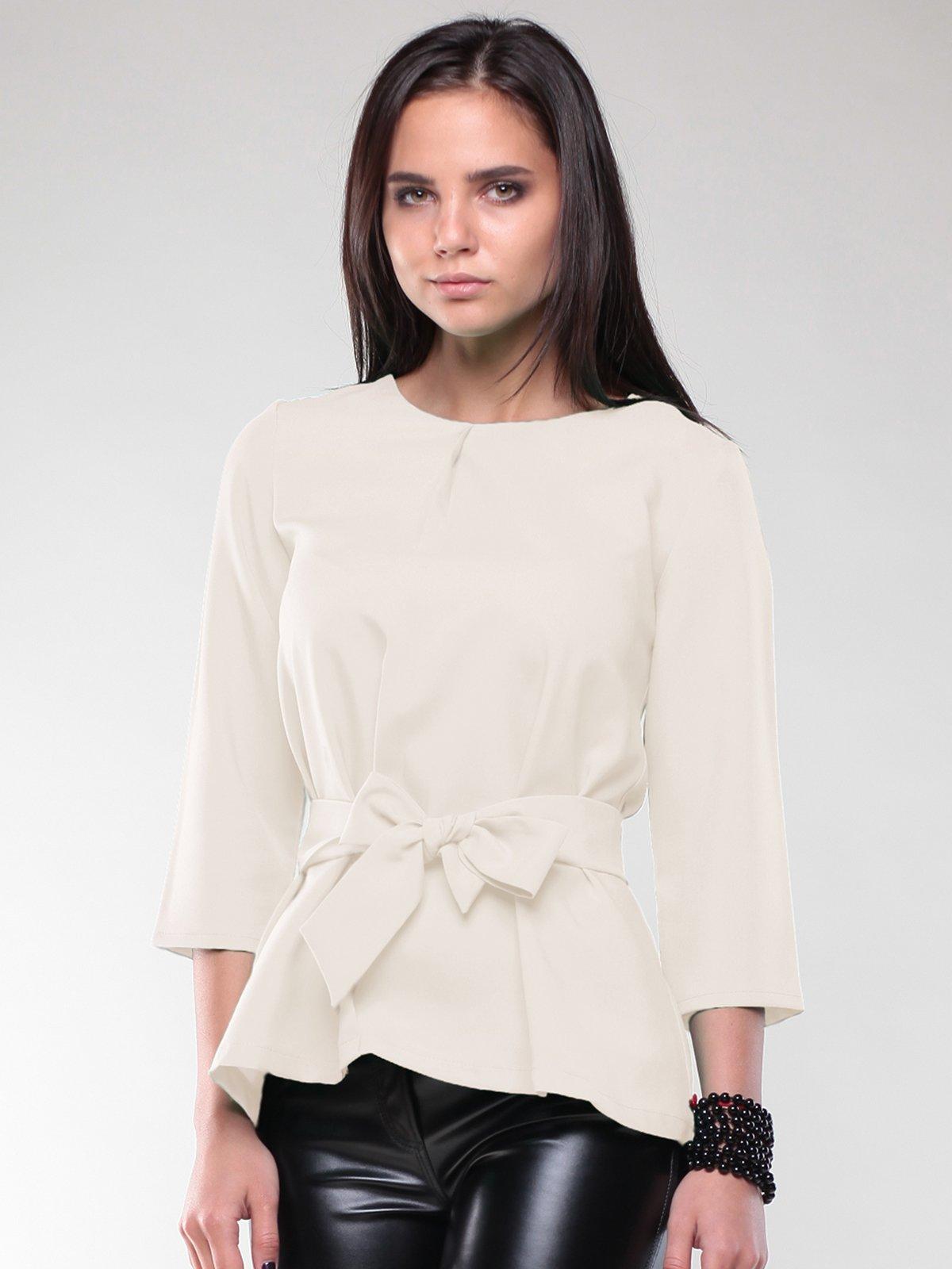 Блуза молочного цвета | 2170379