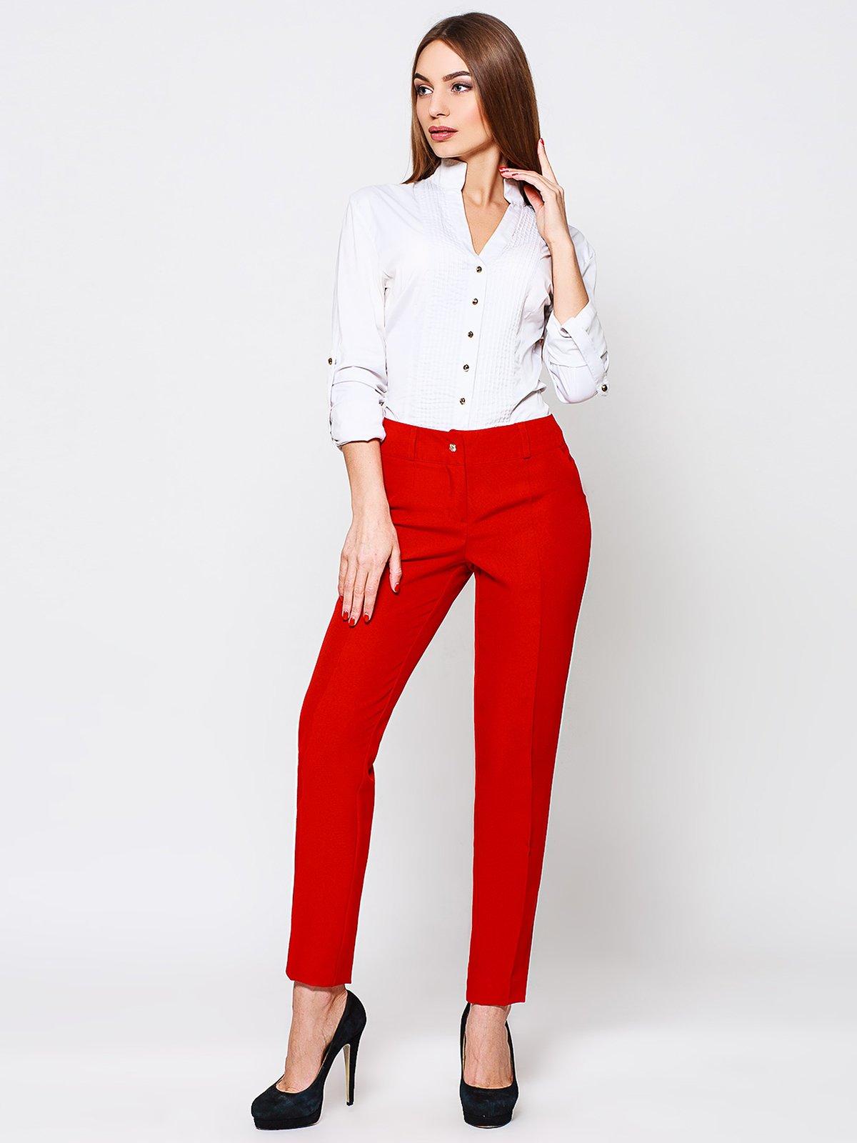 Штани червоні | 2105009