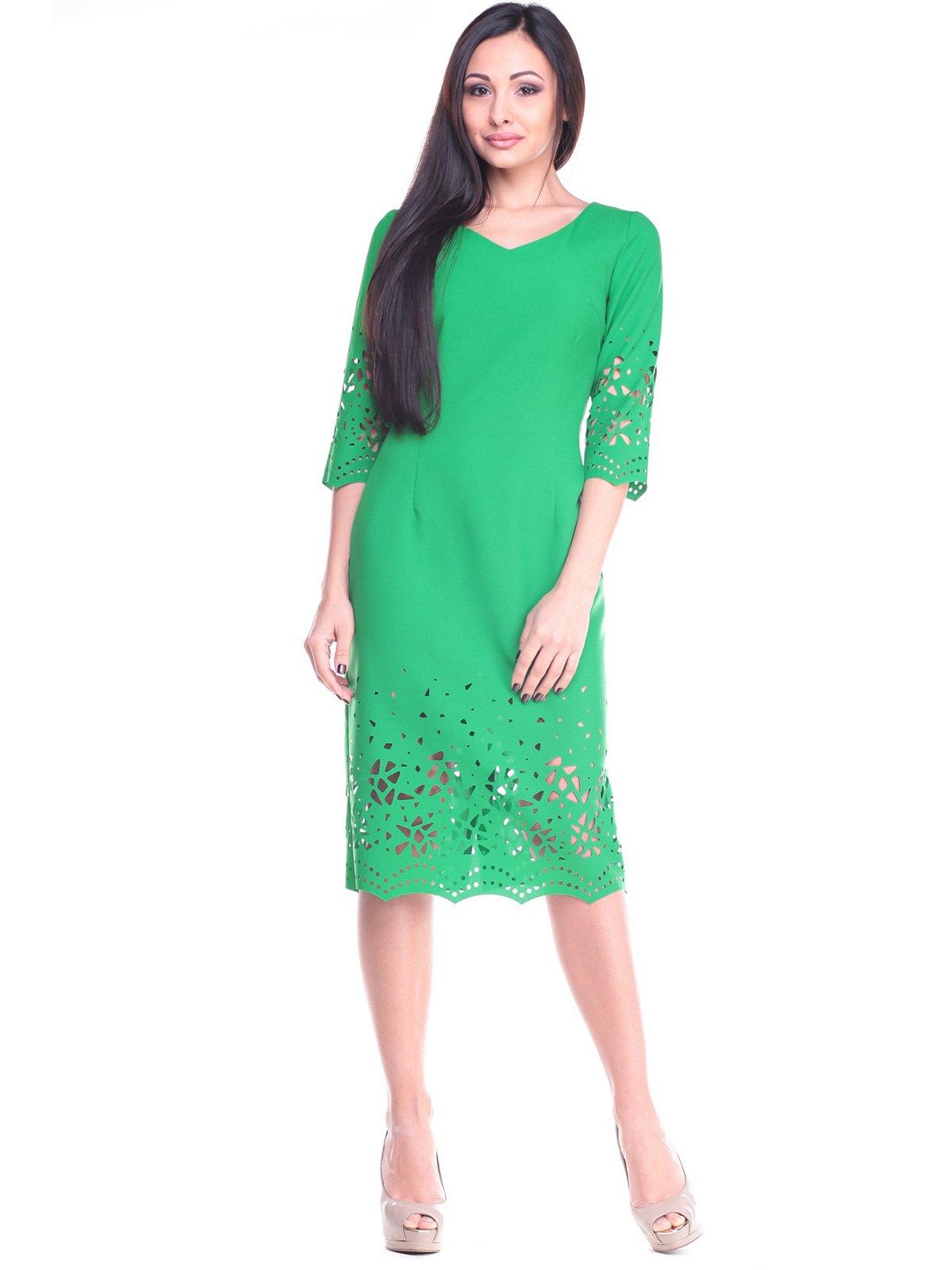 Платье изумрудного цвета   2175606
