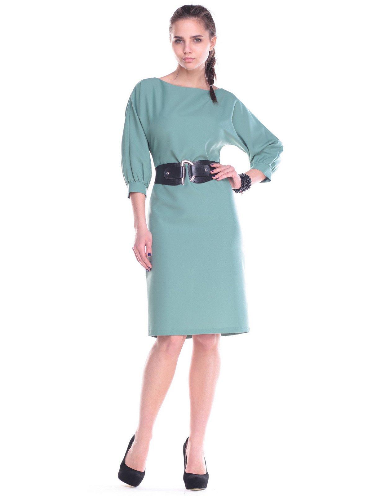 Платье оливковое | 2193472