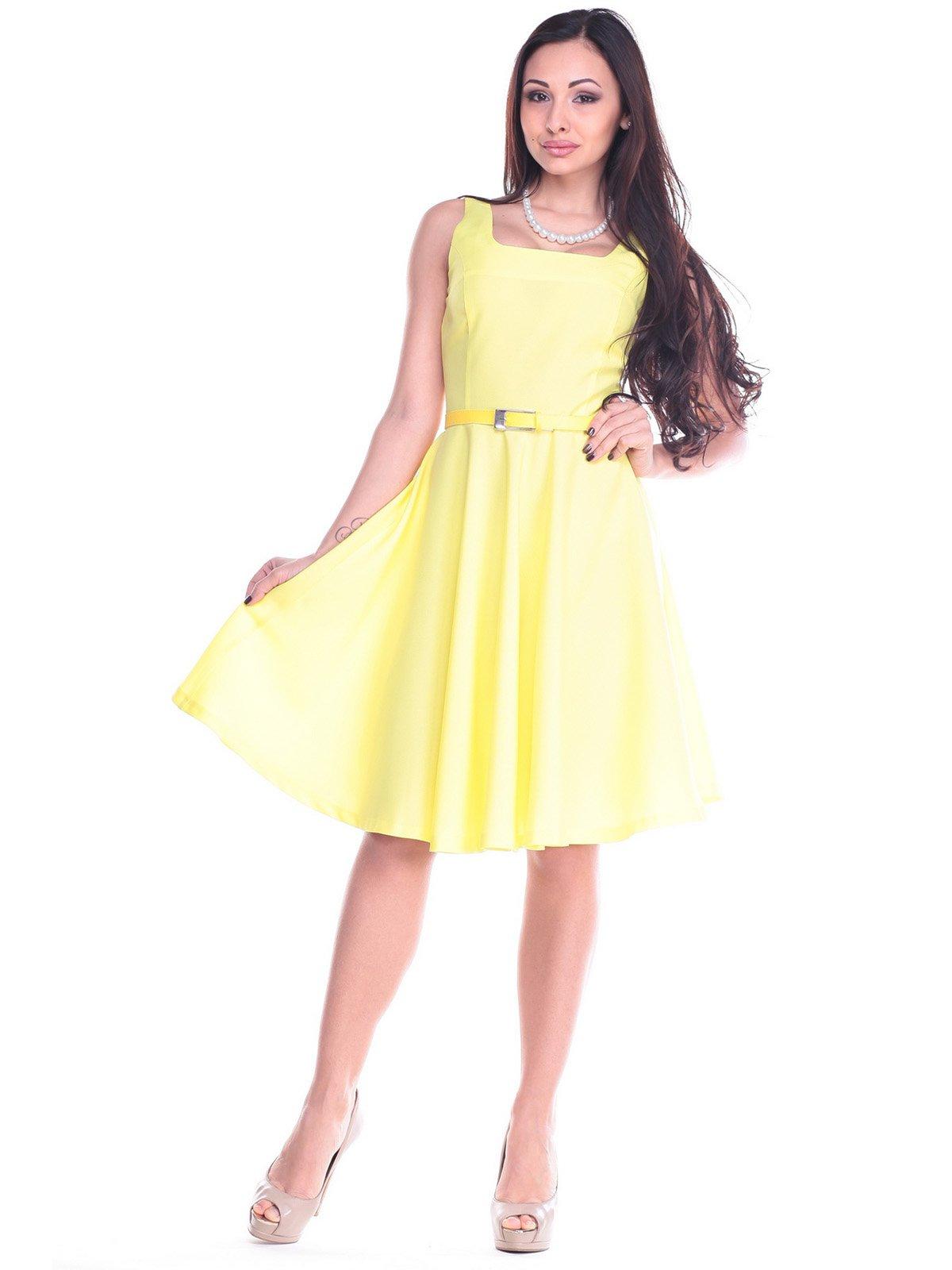 Сукня ніжно-жовта | 2195834