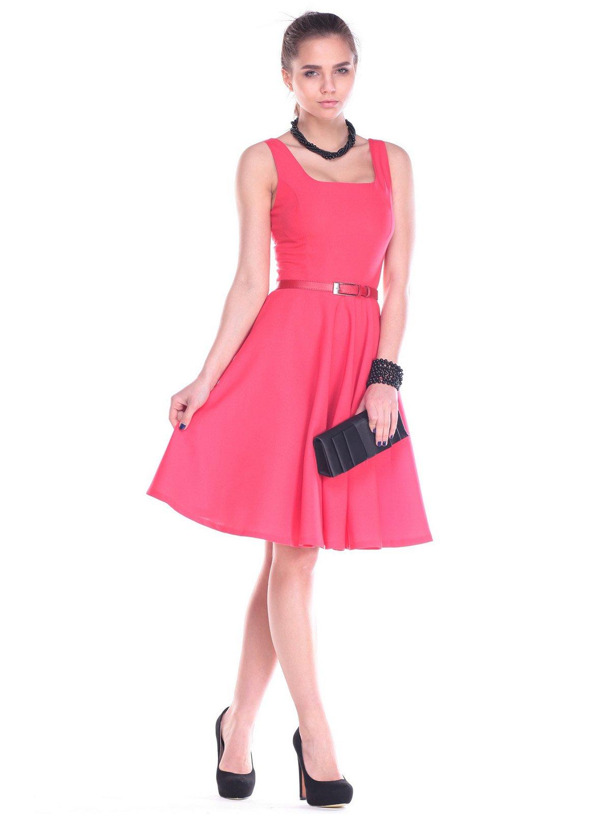 Платье коралловое | 2195835