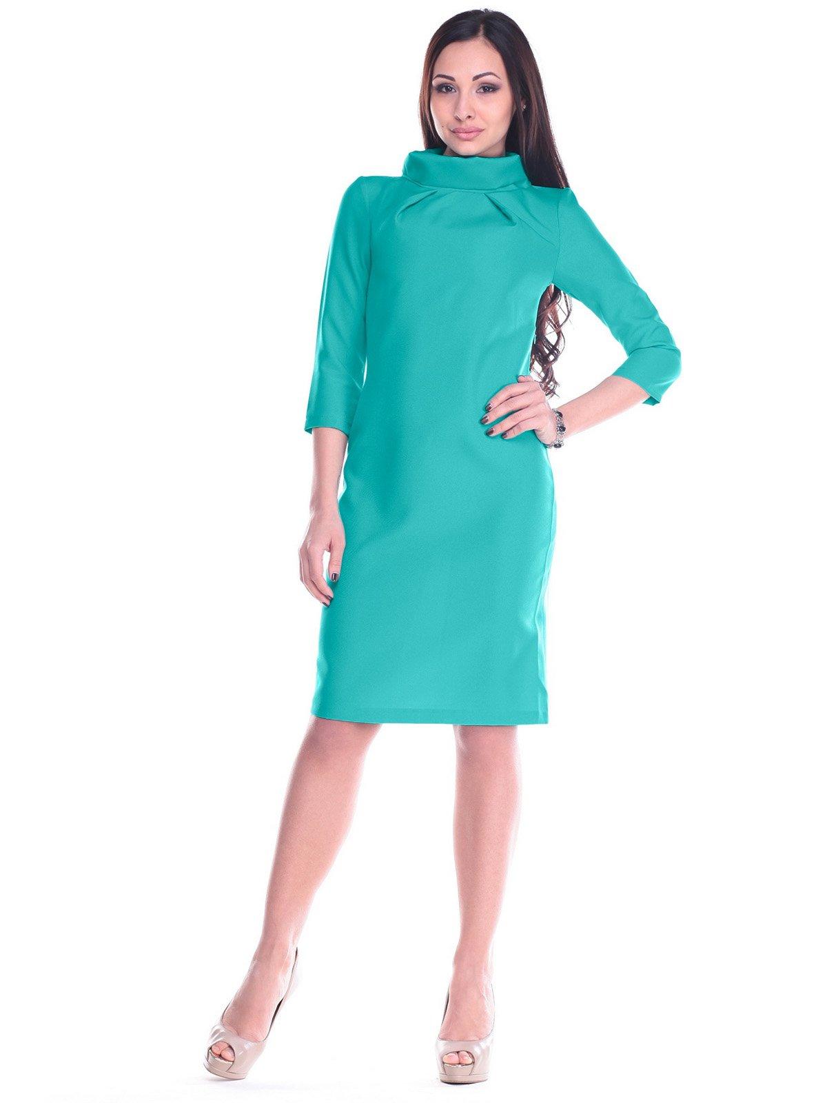 Платье темно-ментолового цвета | 2195949
