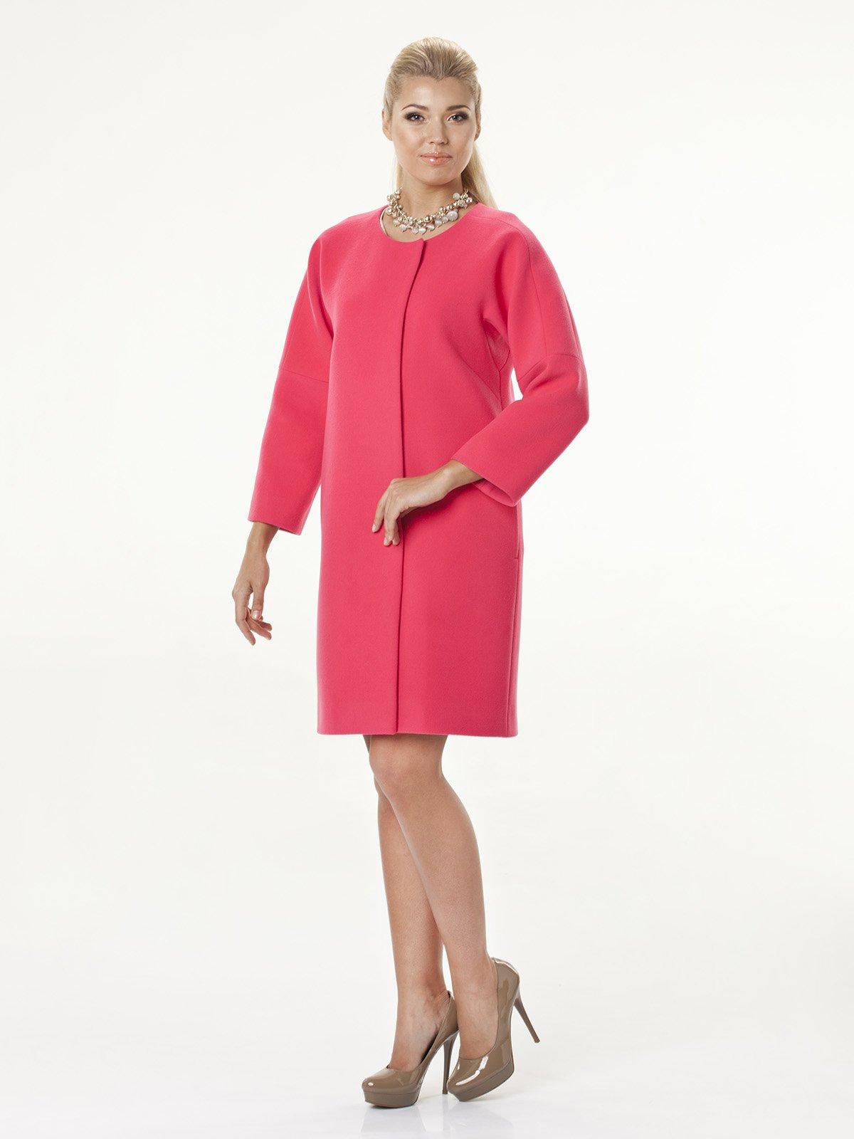Пальто розовое | 2074798 | фото 3