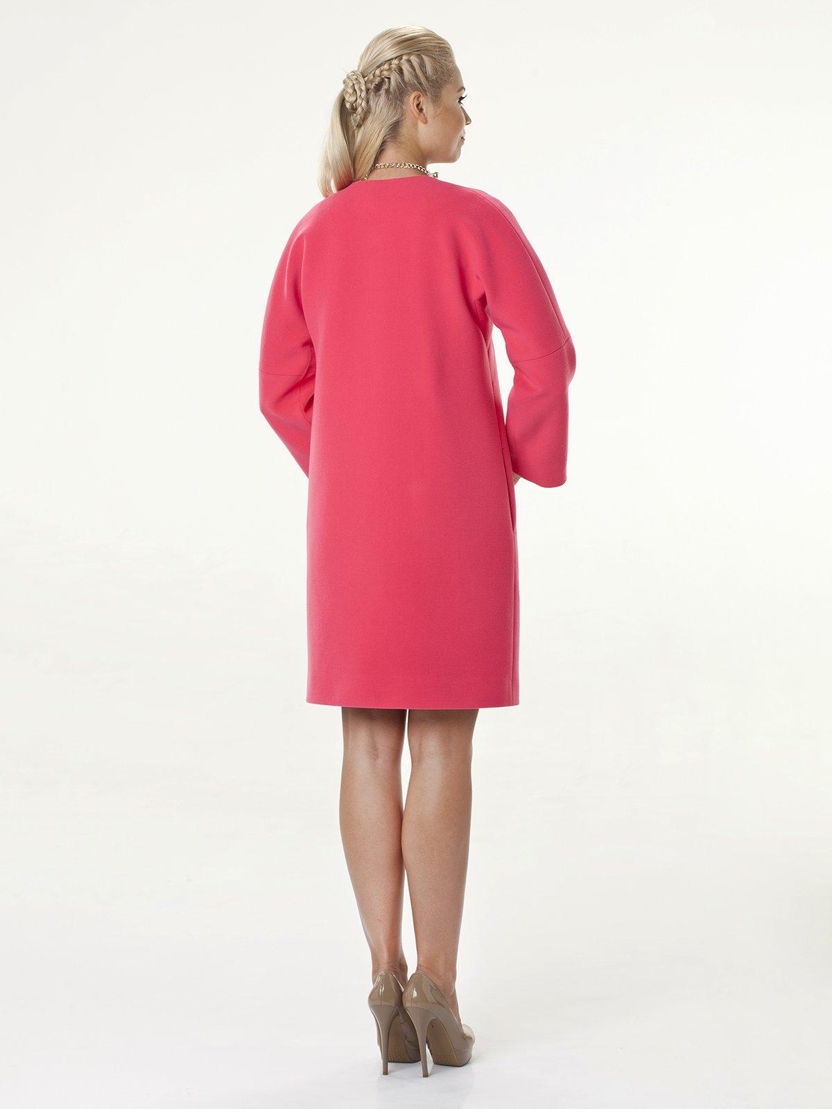 Пальто розовое | 2074798 | фото 4