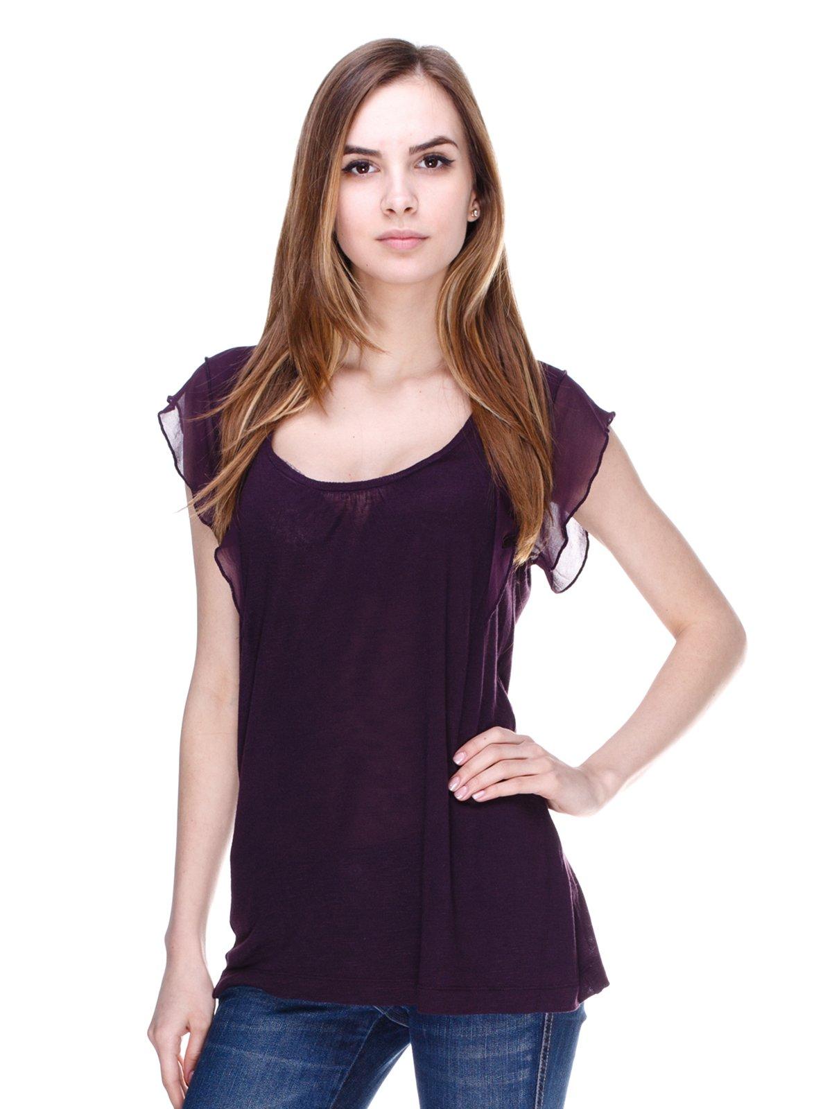 Блуза фиолетовая   2193045