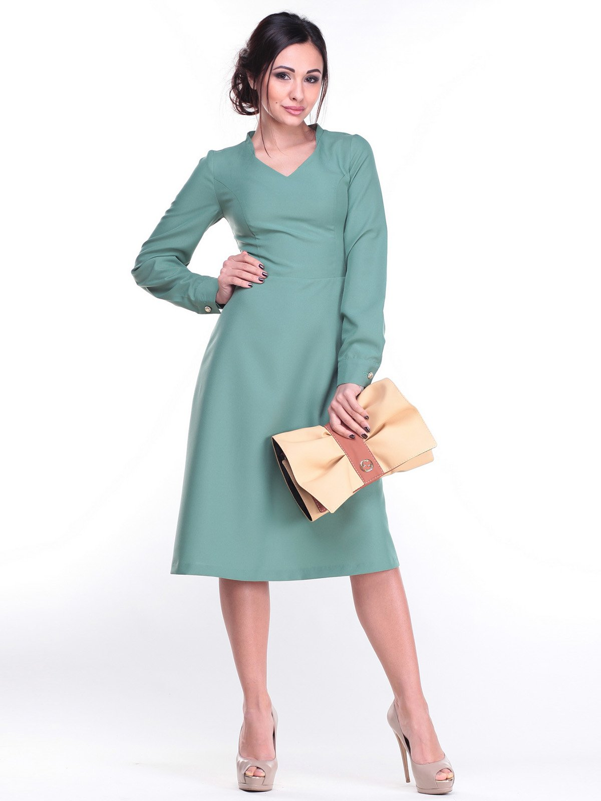 Сукня оливкового кольору   2212281