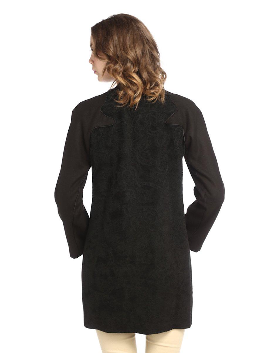 Пальто черное | 2213783 | фото 2
