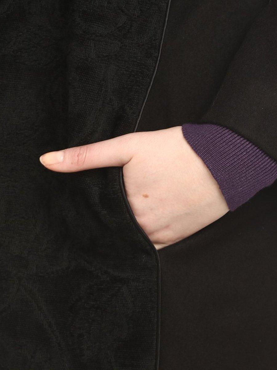 Пальто черное | 2213783 | фото 4