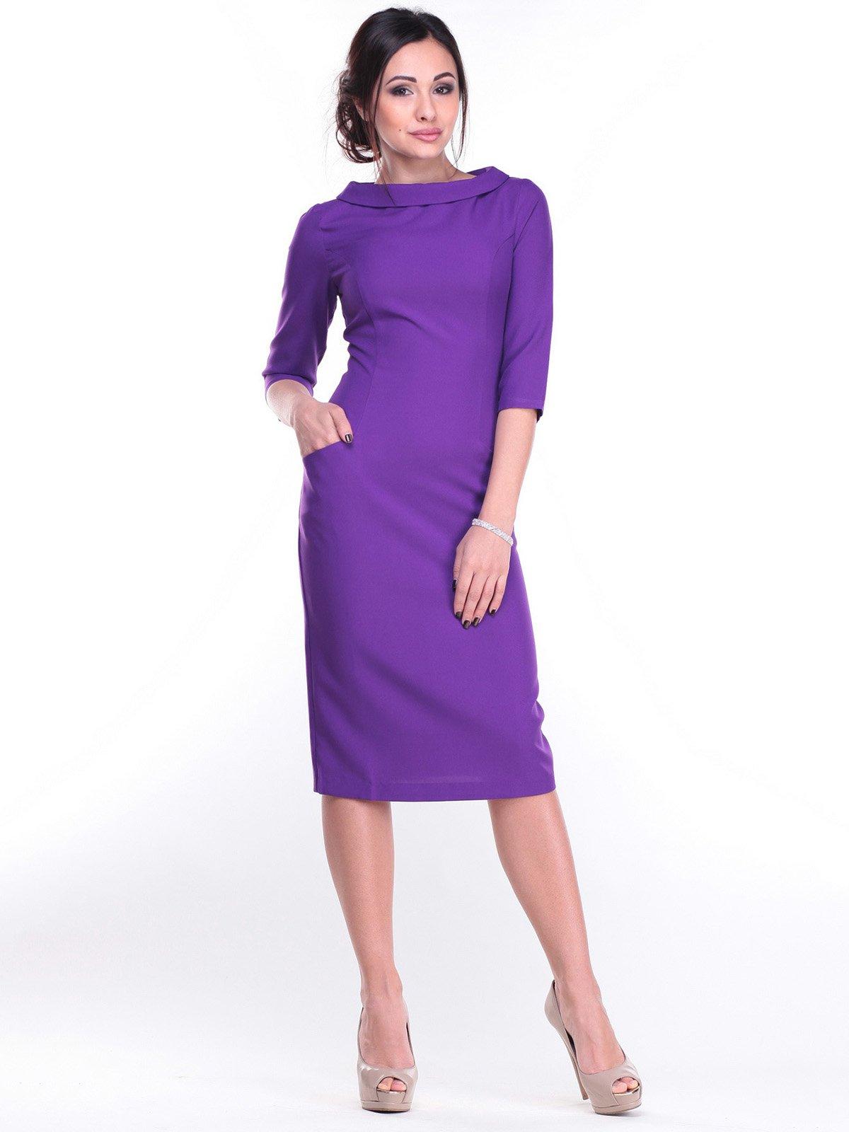 Платье фиалковое | 2212927