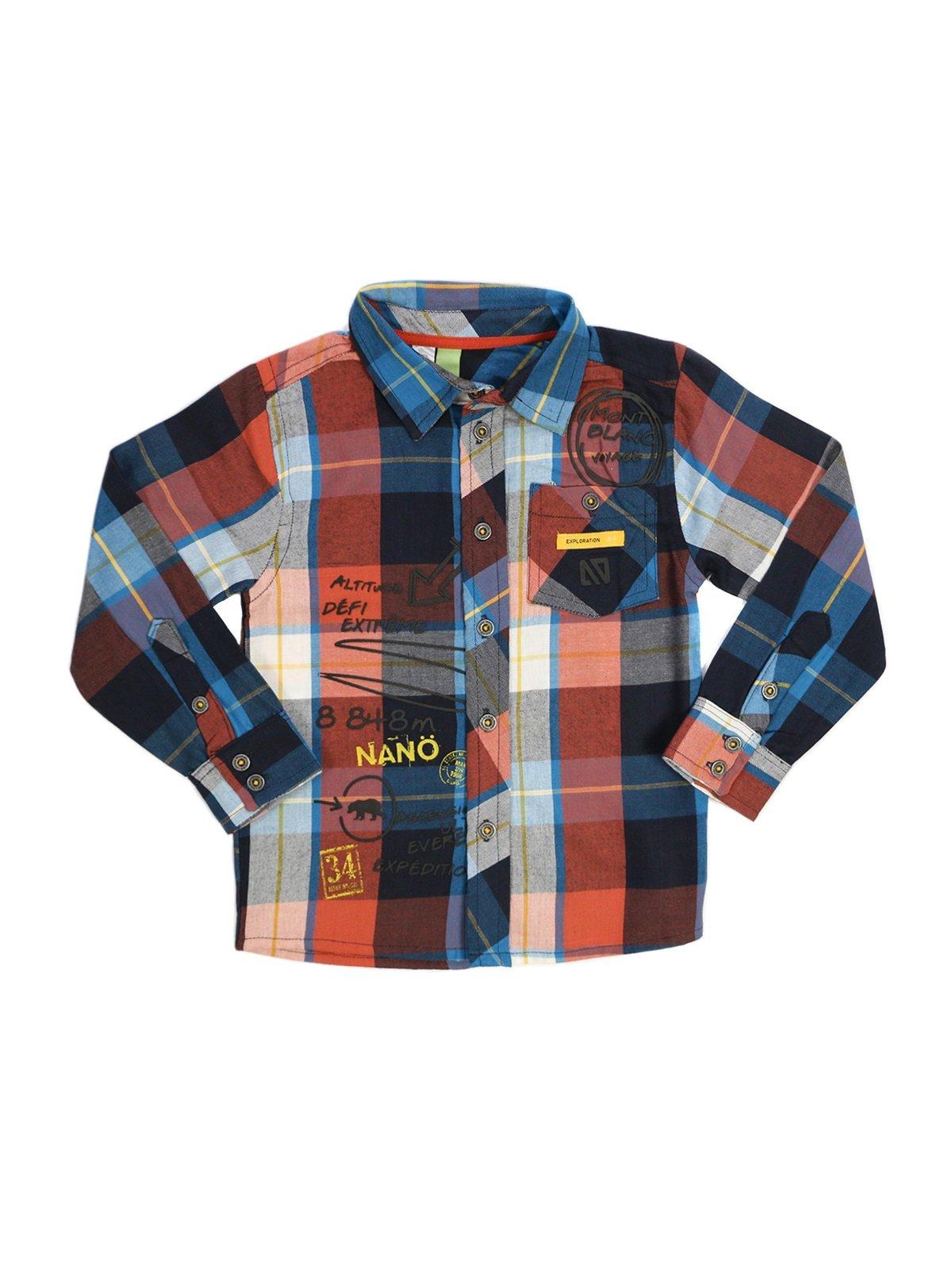 Рубашка клетчатая | 2228490