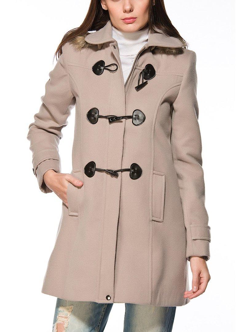 Пальто бежевое   2218291