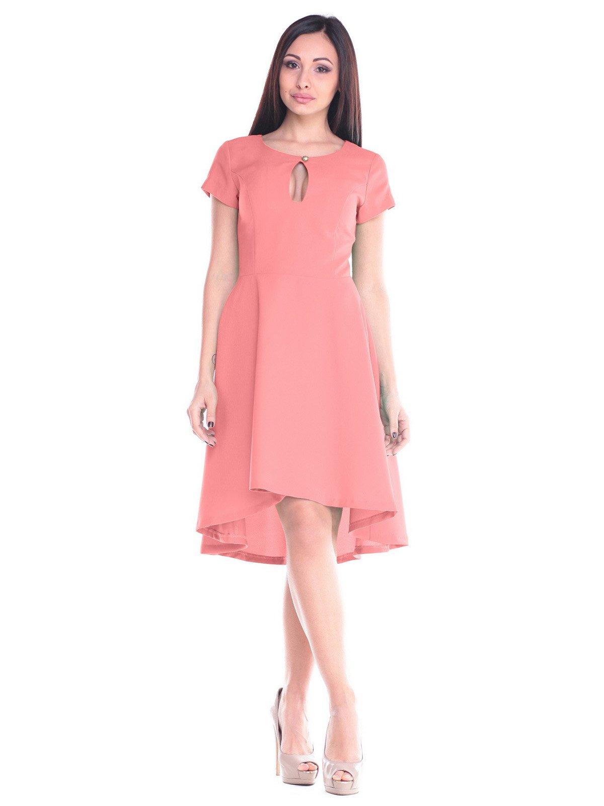 Платье темно-персикового цвета | 2235333