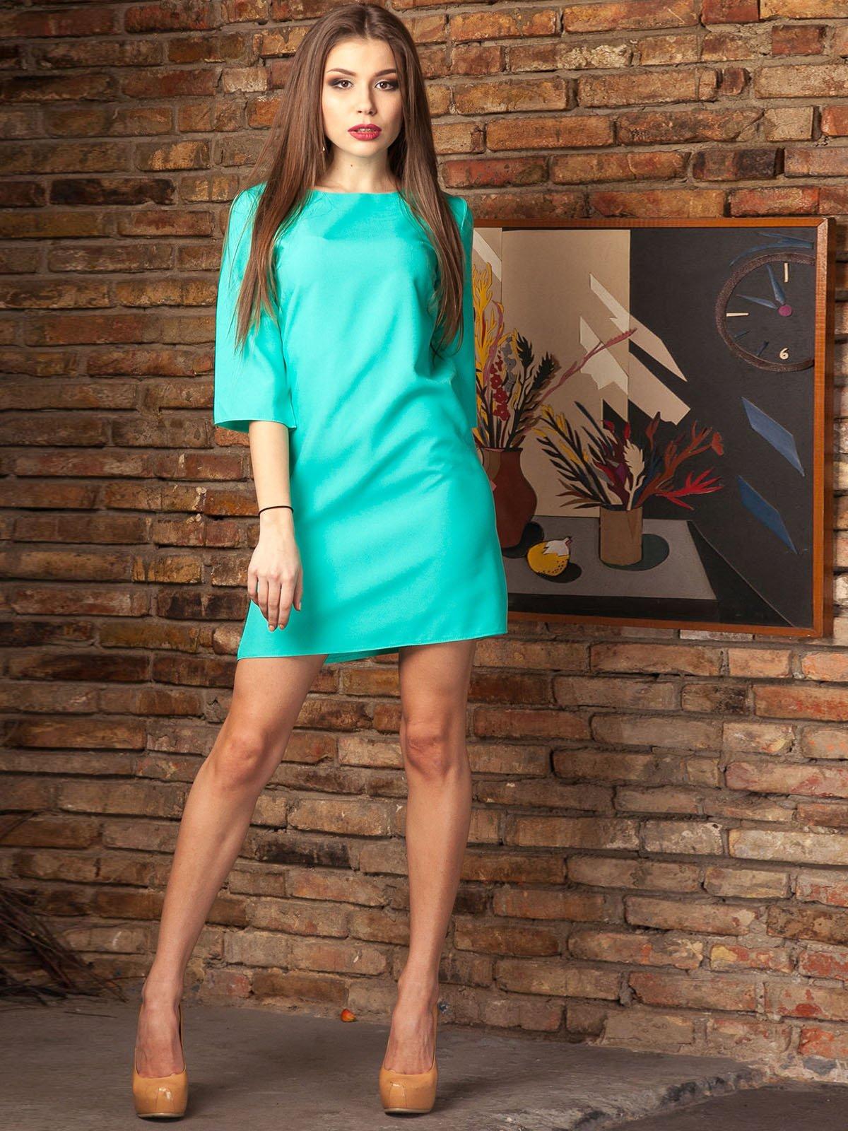 Платье бирюзовое | 2239752