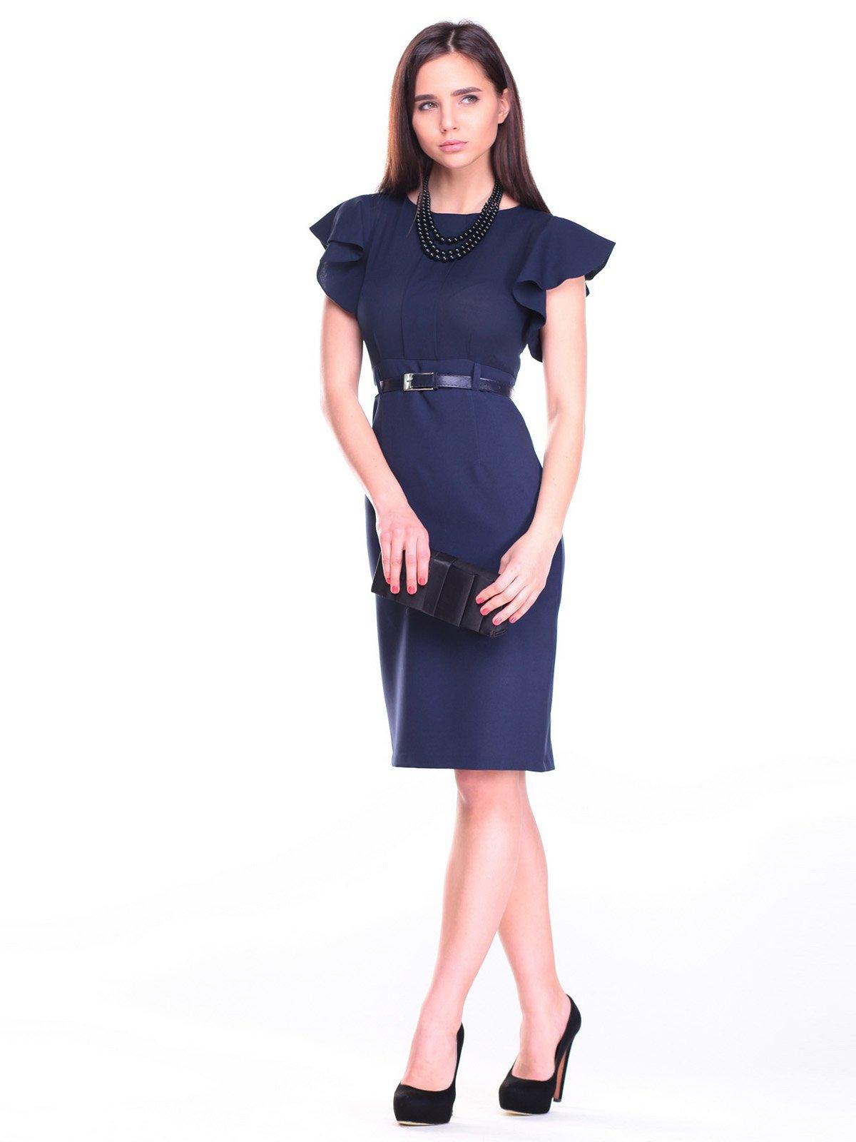 Платье темно-синее | 2257362