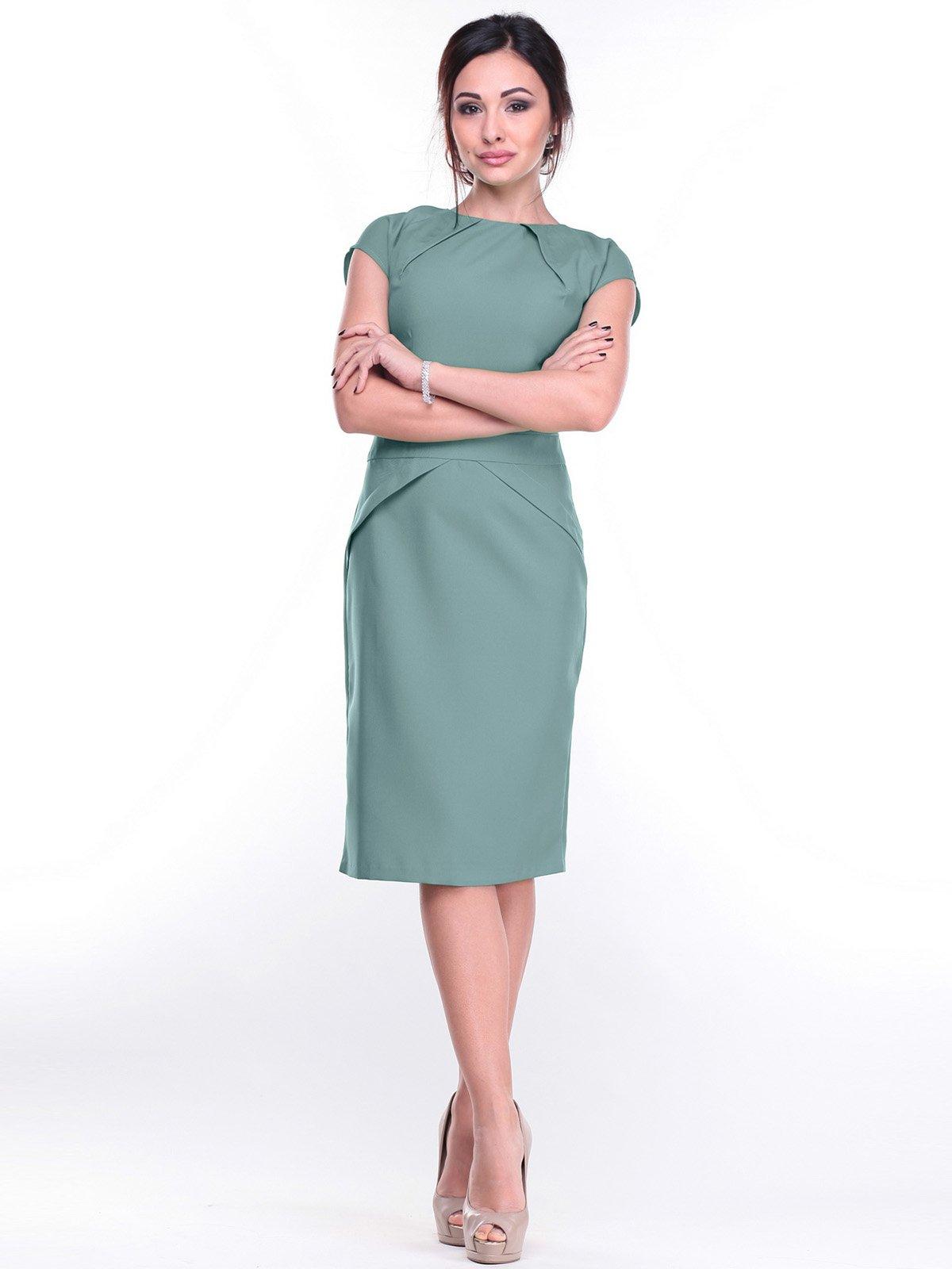Платье оливковое | 2257559