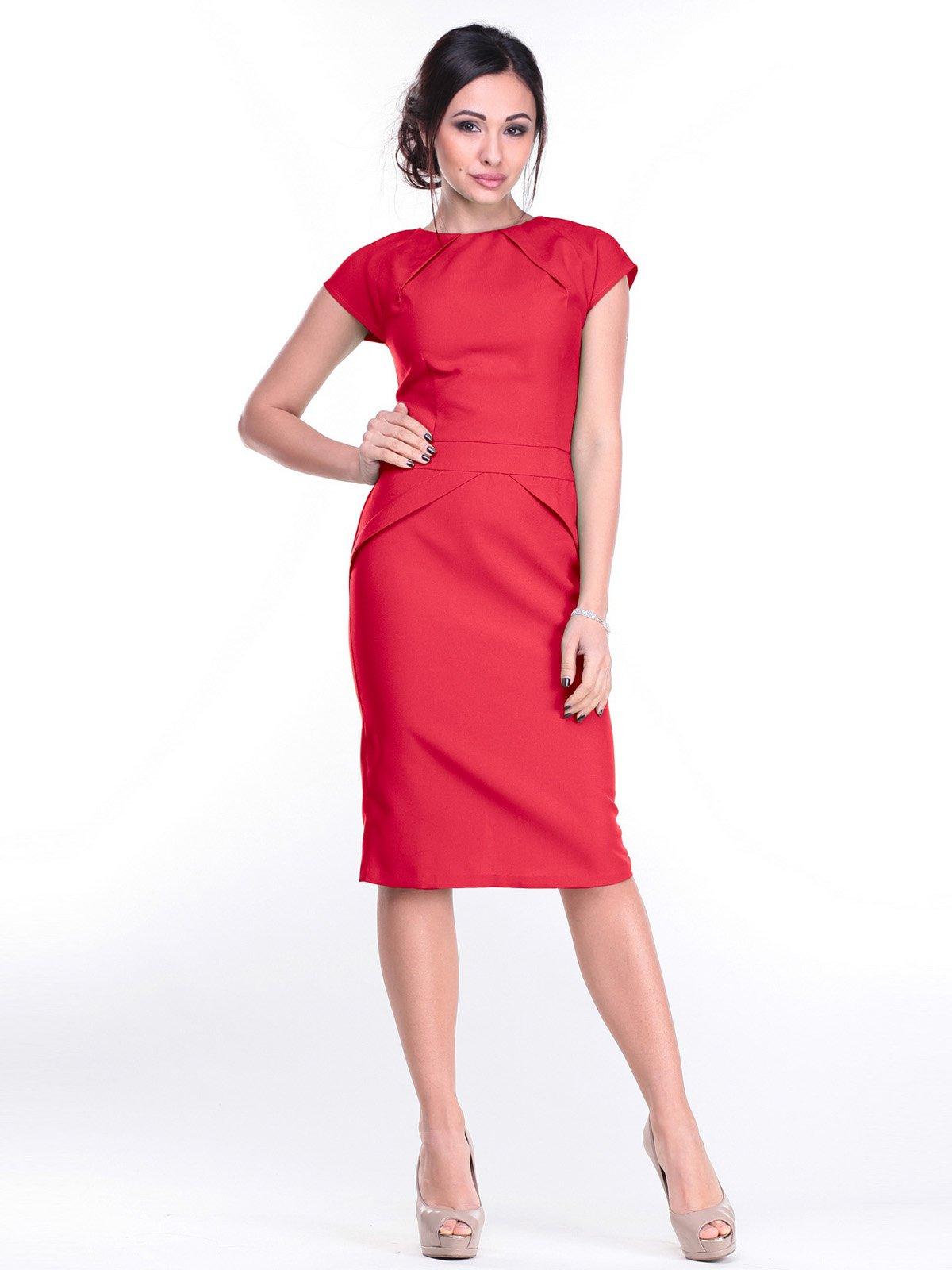 Платье красное | 2257561