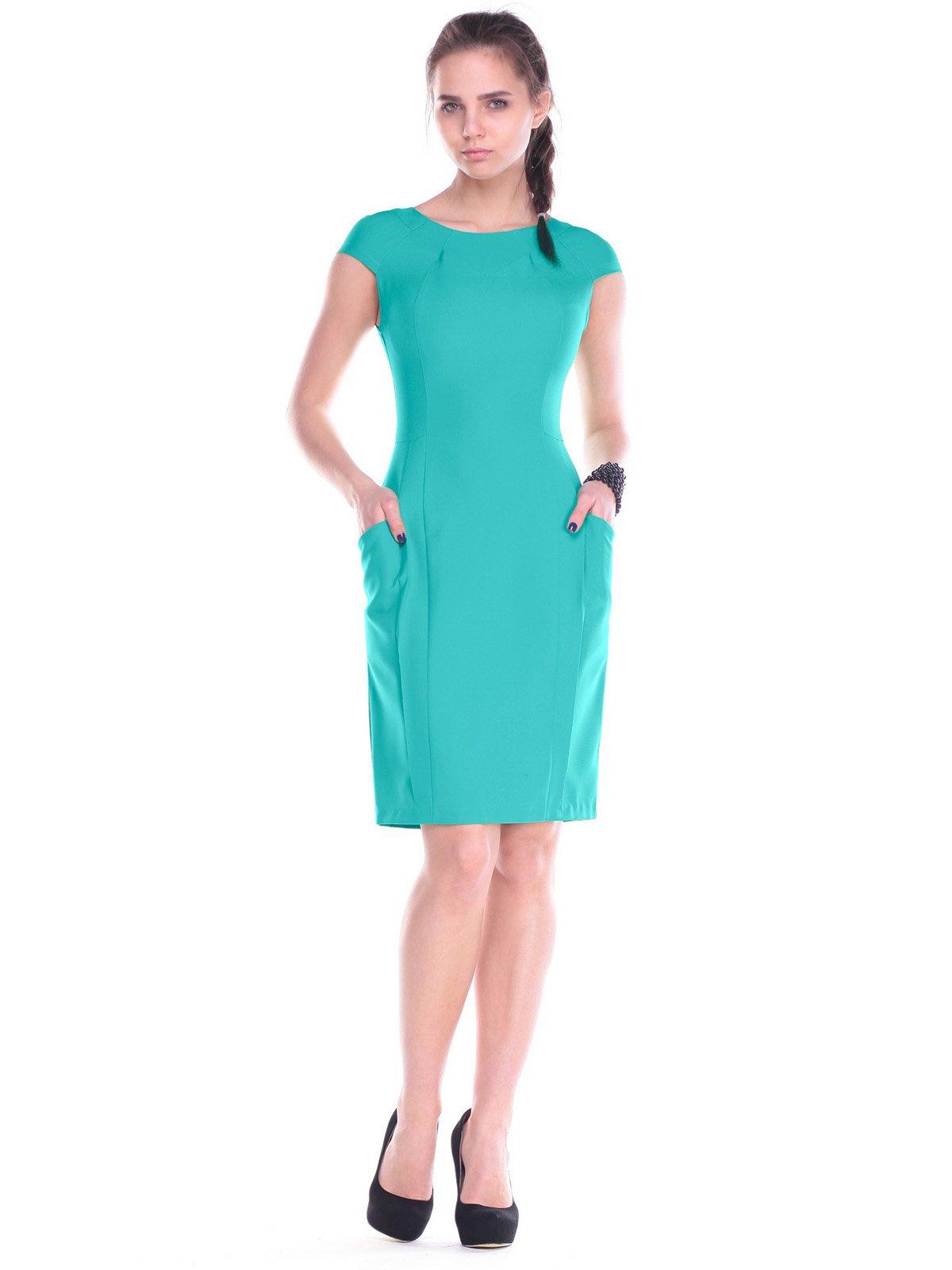 Сукня кольору м'яти | 2257571