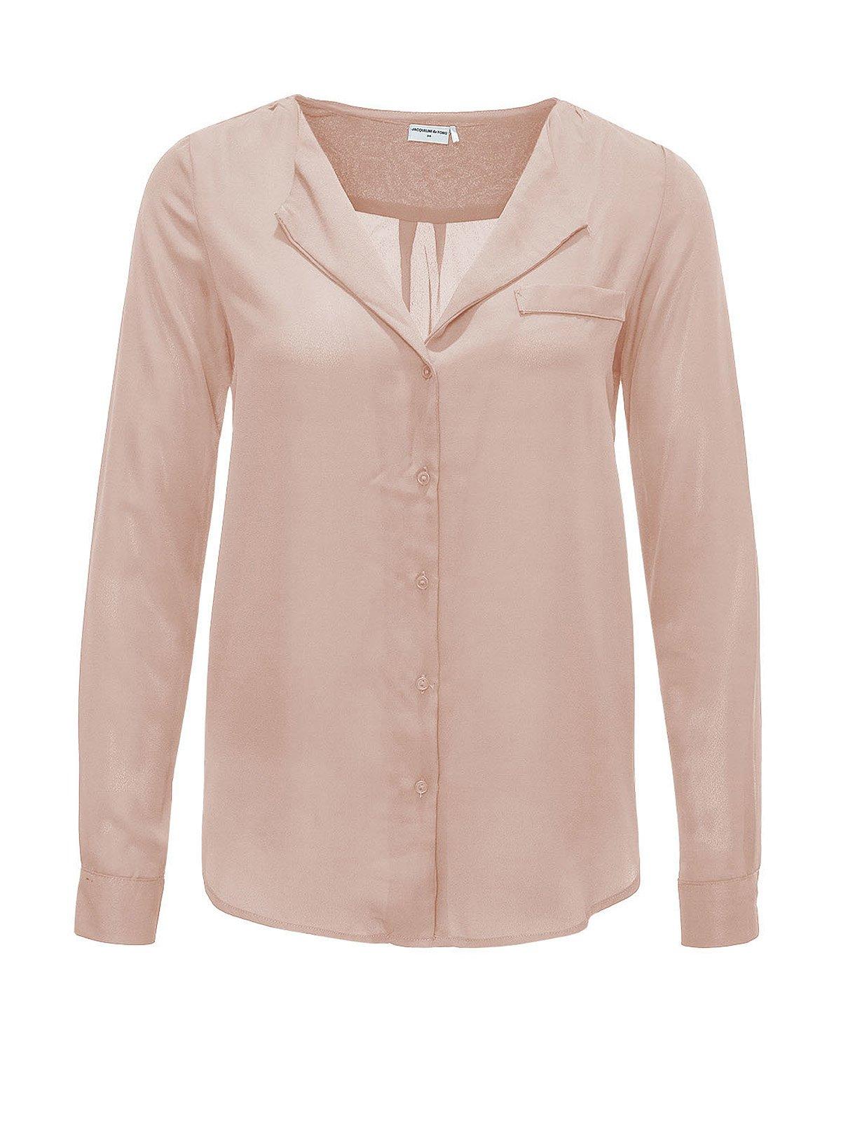 Блуза светло-розовая | 2258525
