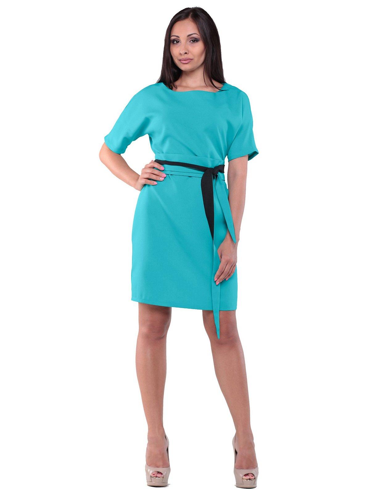 Платье светло-ментолового цвета | 2239073