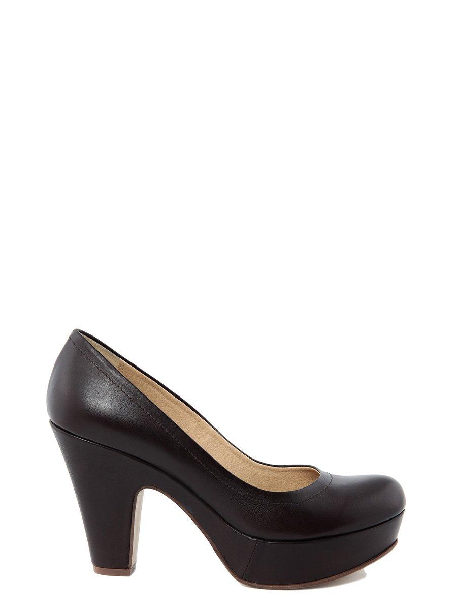 Туфлі кавового кольору | 2270697