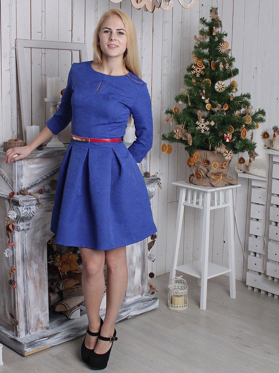 Платье синее | 2279004