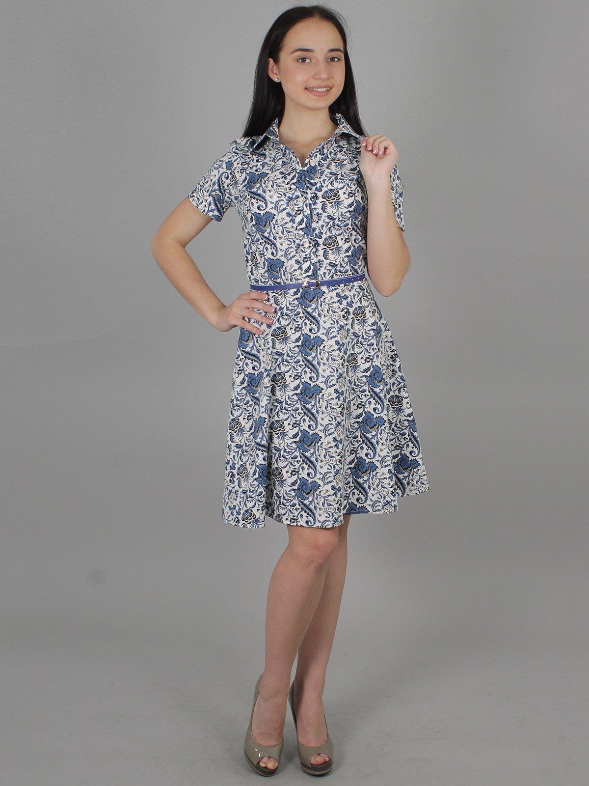 Платье в цветочный принт   2279047