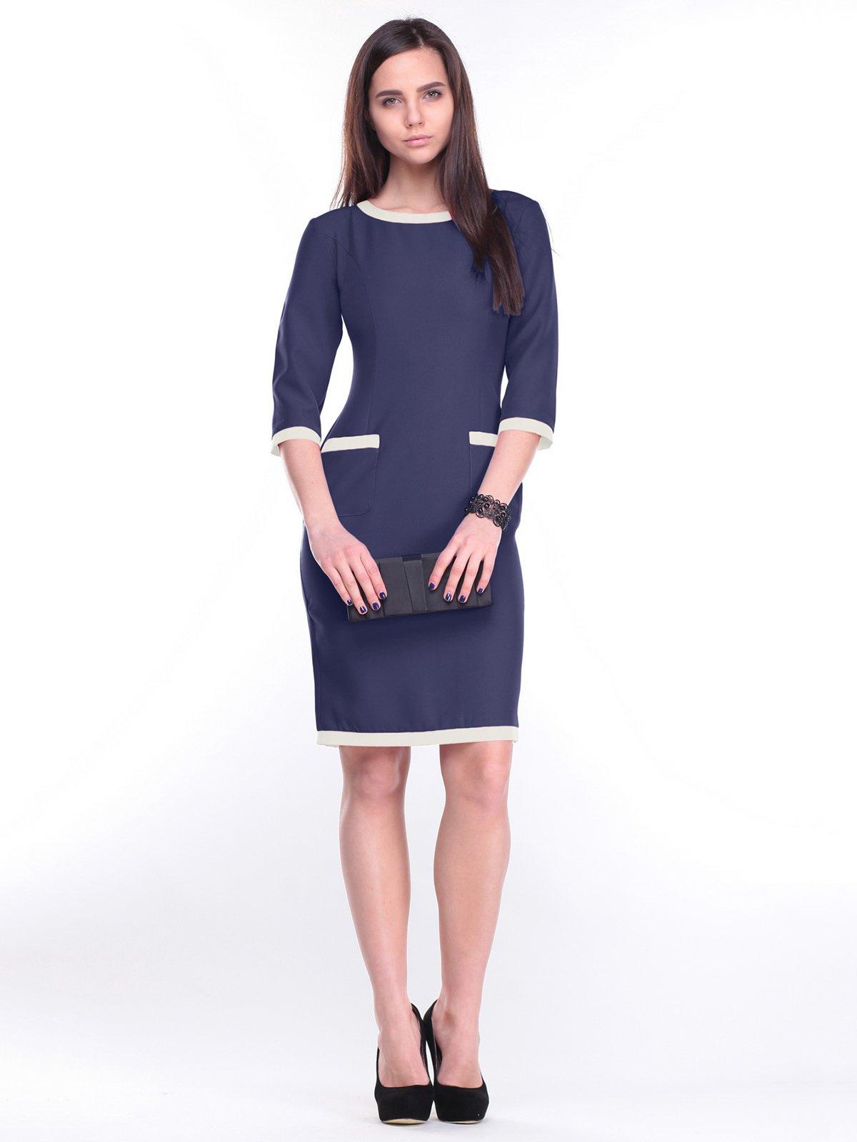Платье синее   2281135