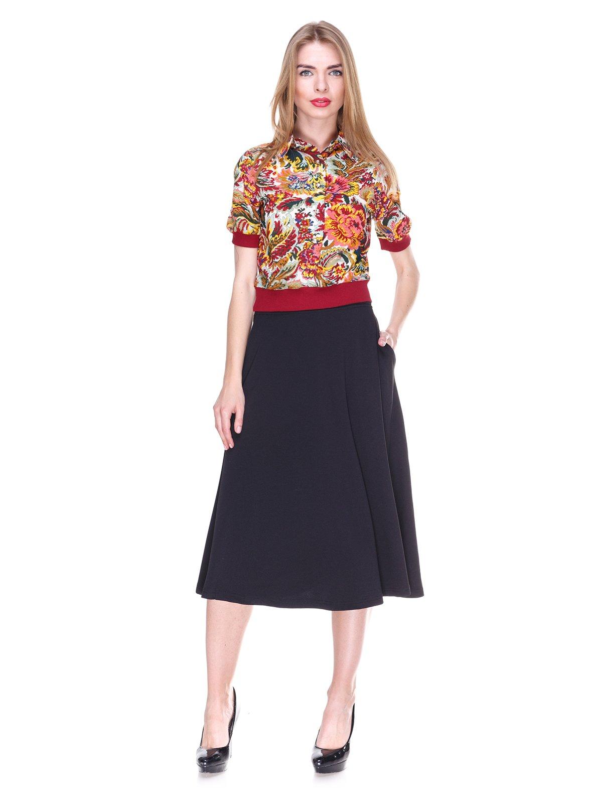 Блуза в квітковий принт | 2273968 | фото 4
