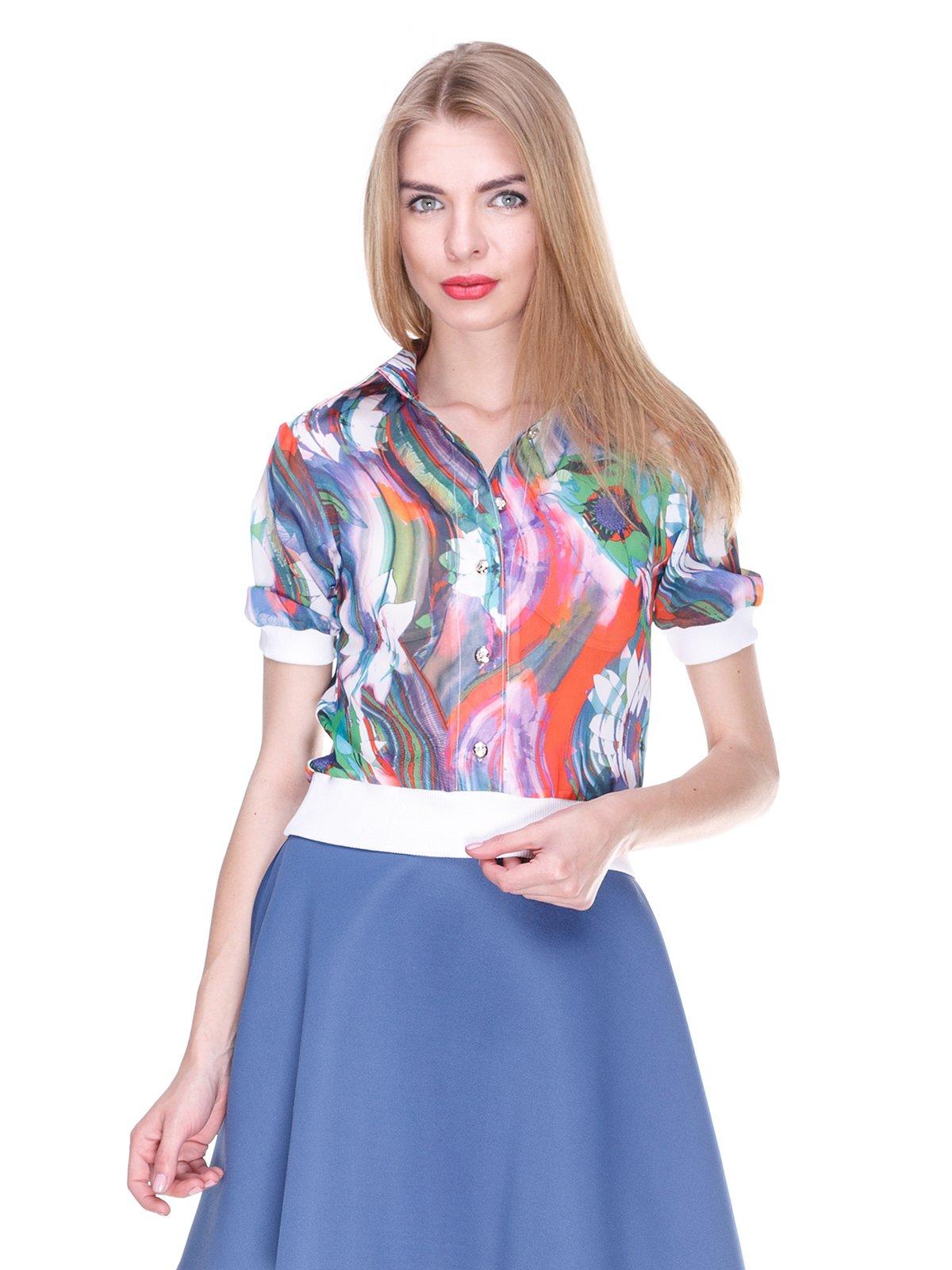 Блуза в принт | 2273969