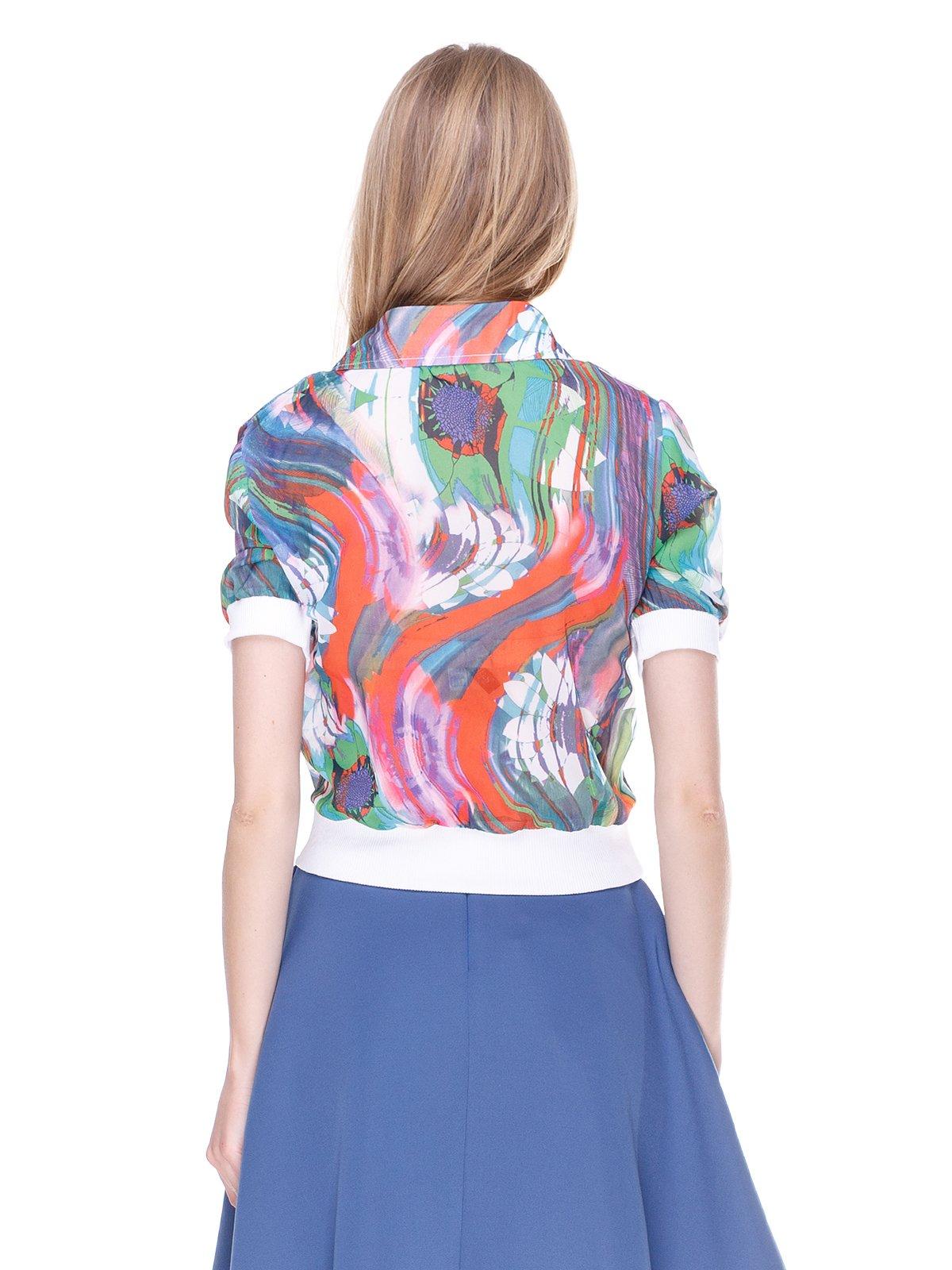 Блуза в принт | 2273969 | фото 2