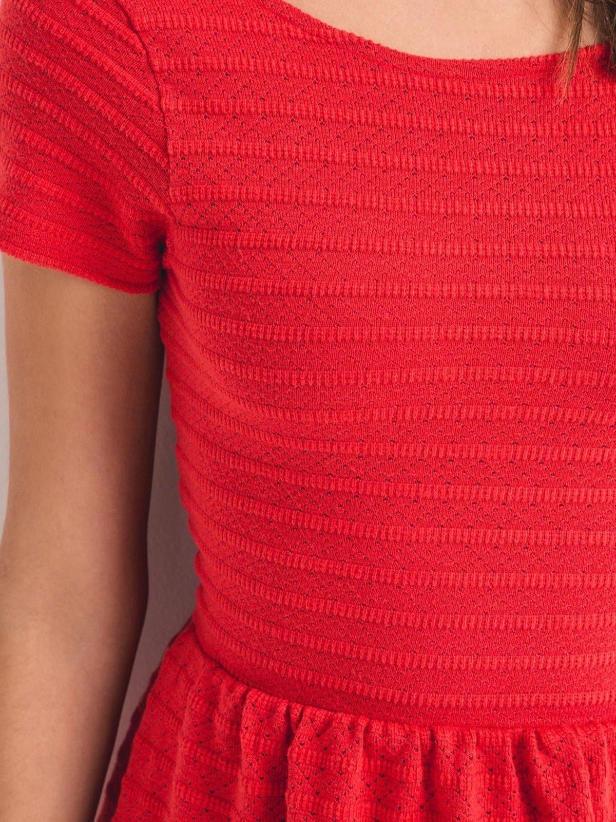 Платье кораллового цвета | 2287847 | фото 4