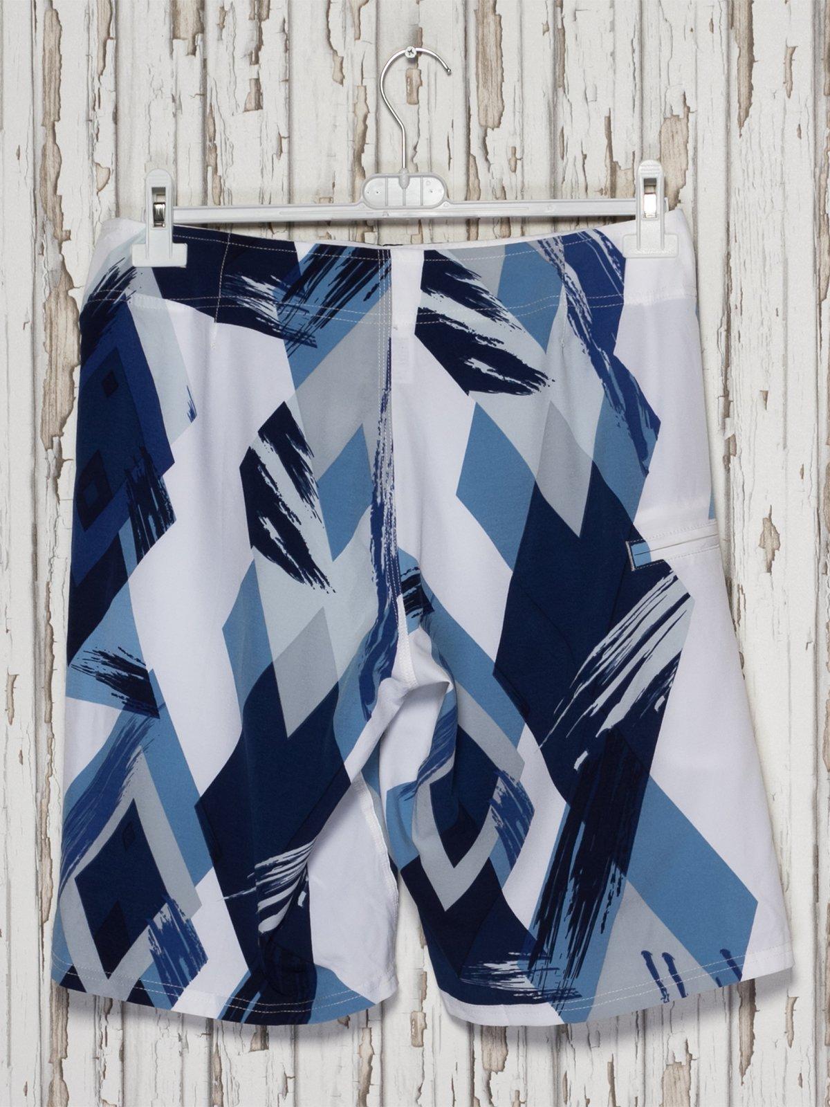 Шорти синьо-білі купальні | 2290032 | фото 2
