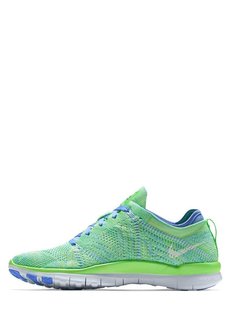 Кросівки салатово-блакитні Free TR Flyknit | 2295046