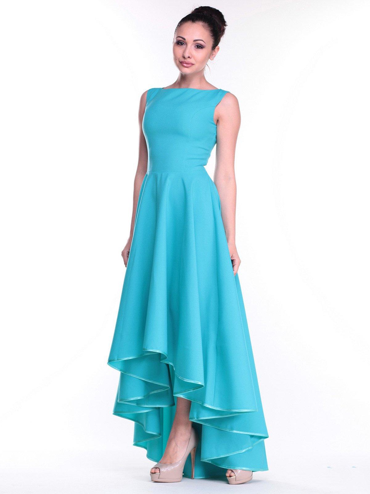 Платье светло-ментоловое   2299641