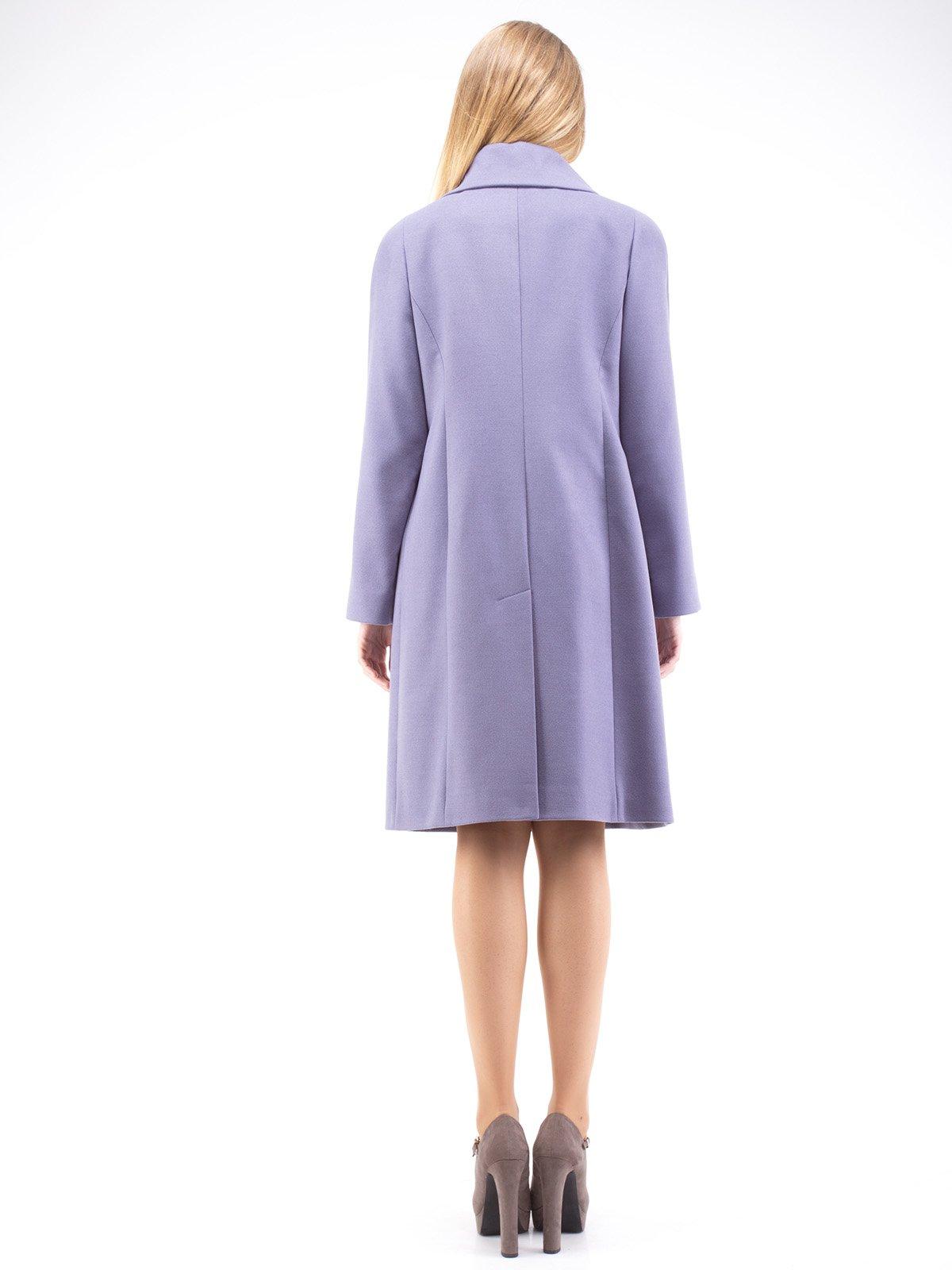 Пальто серо-сиреневое | 2281499 | фото 2