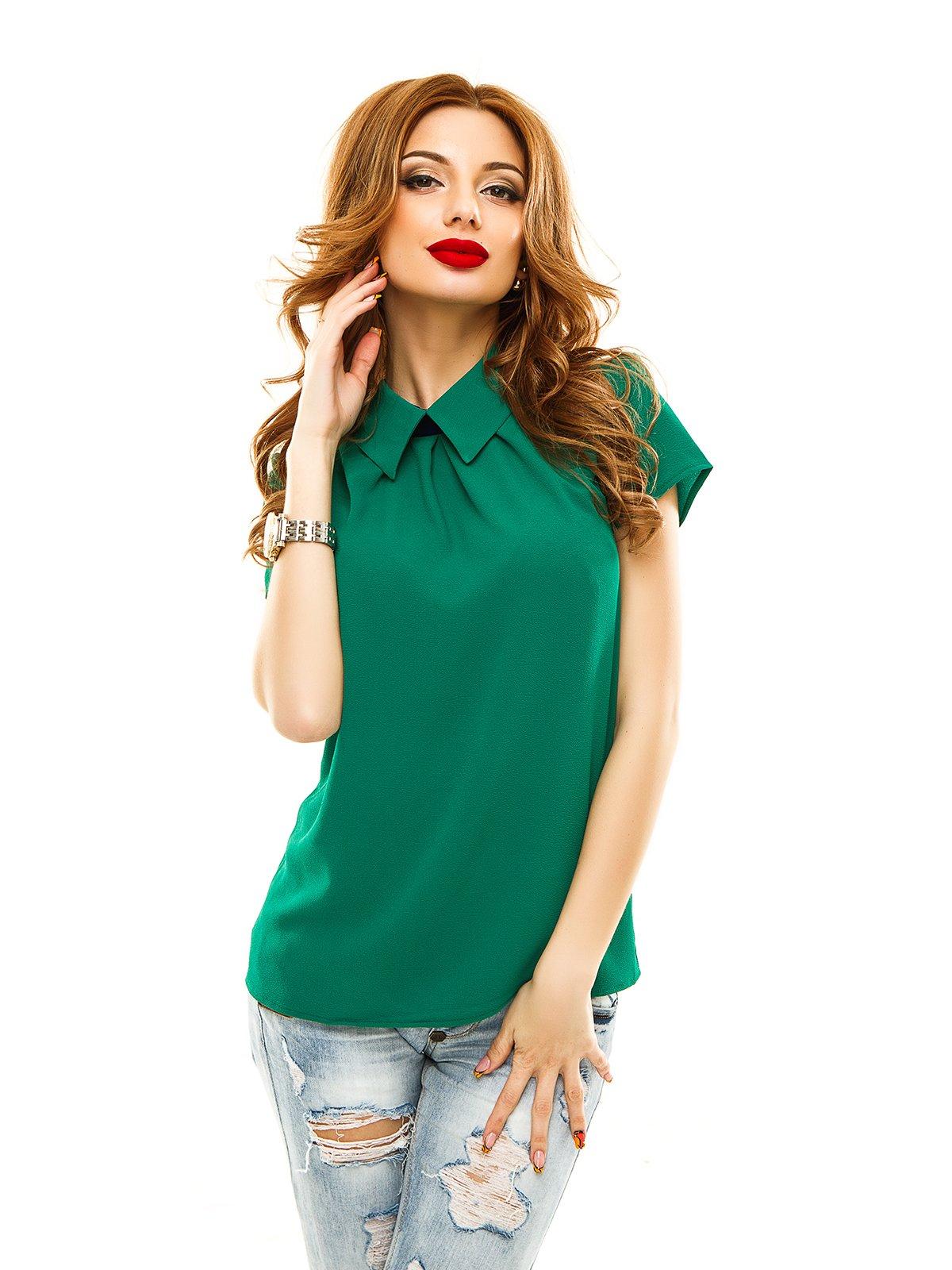 Блуза зелена | 2305434
