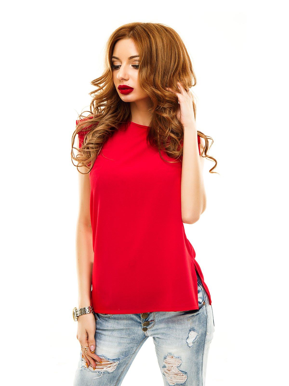 Блуза червона | 2305446