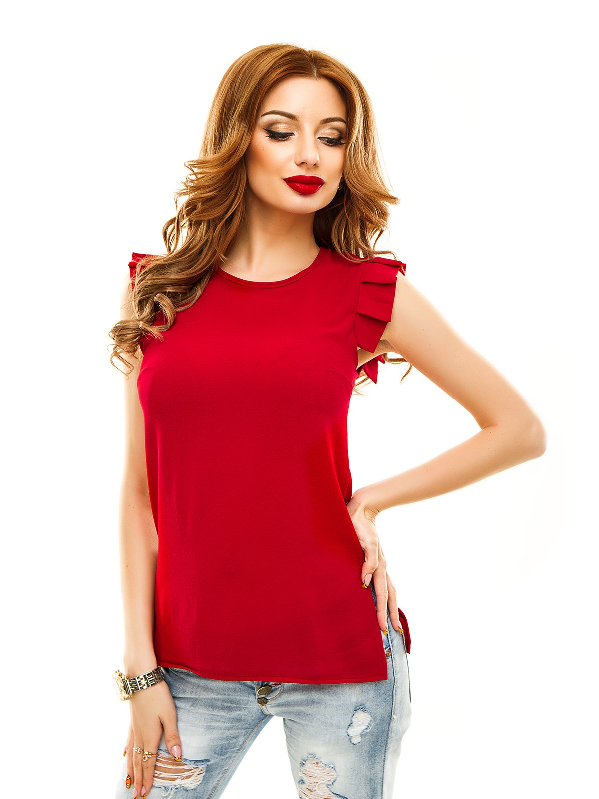 Блуза бордова   2305448