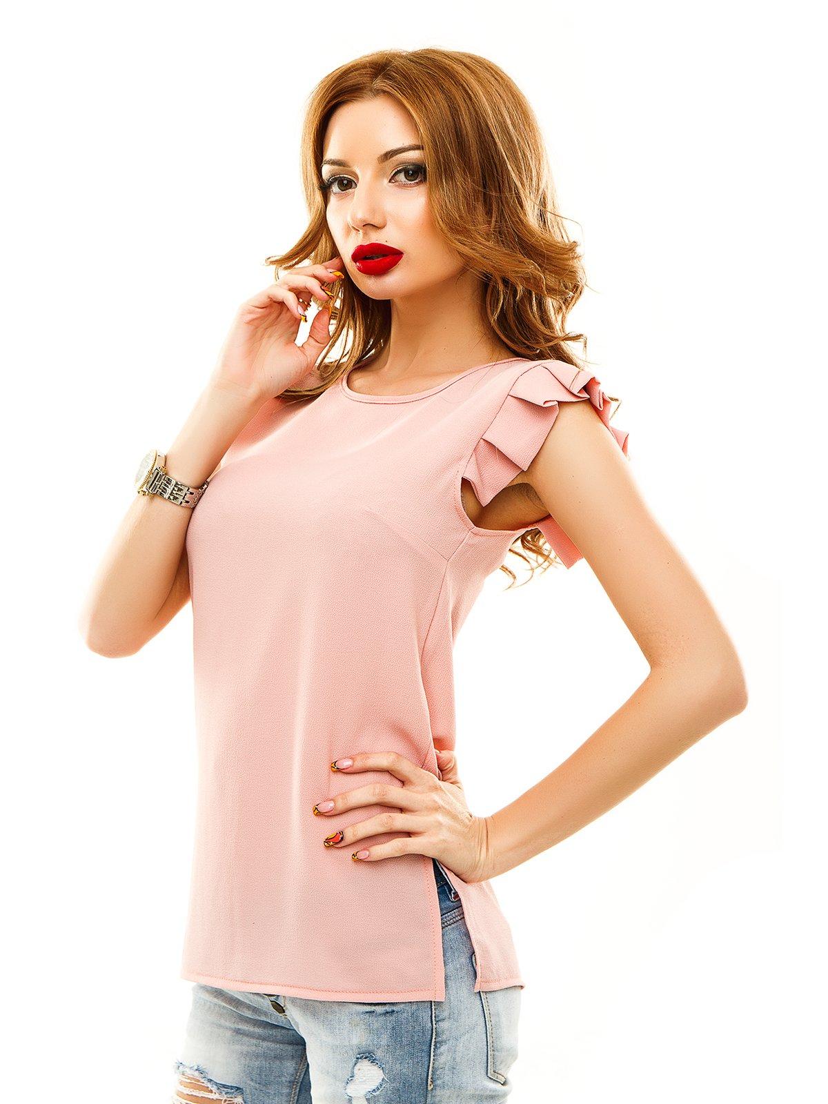 Блуза цвета пудры | 2305451