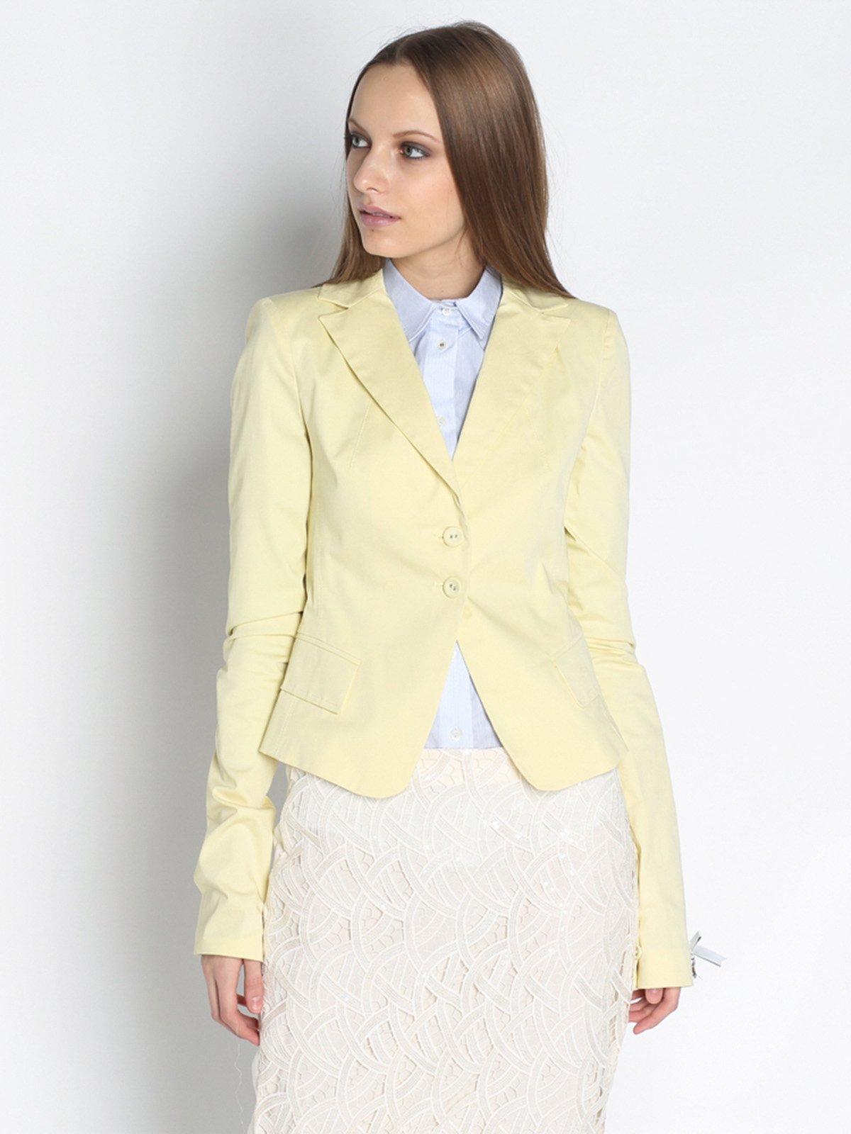Жакет лимонного кольору | 2204845