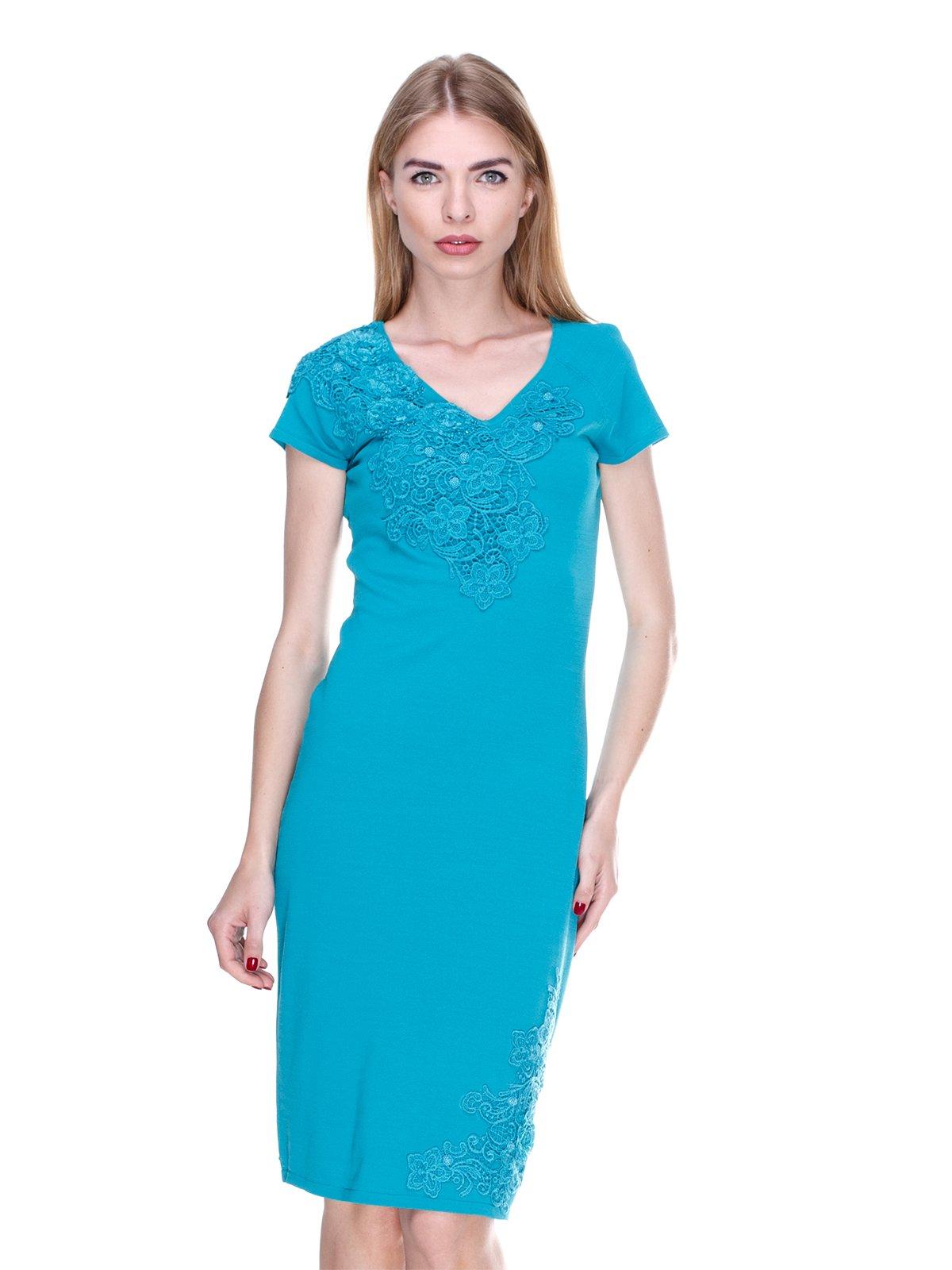 Сукня бірюзова | 2302425