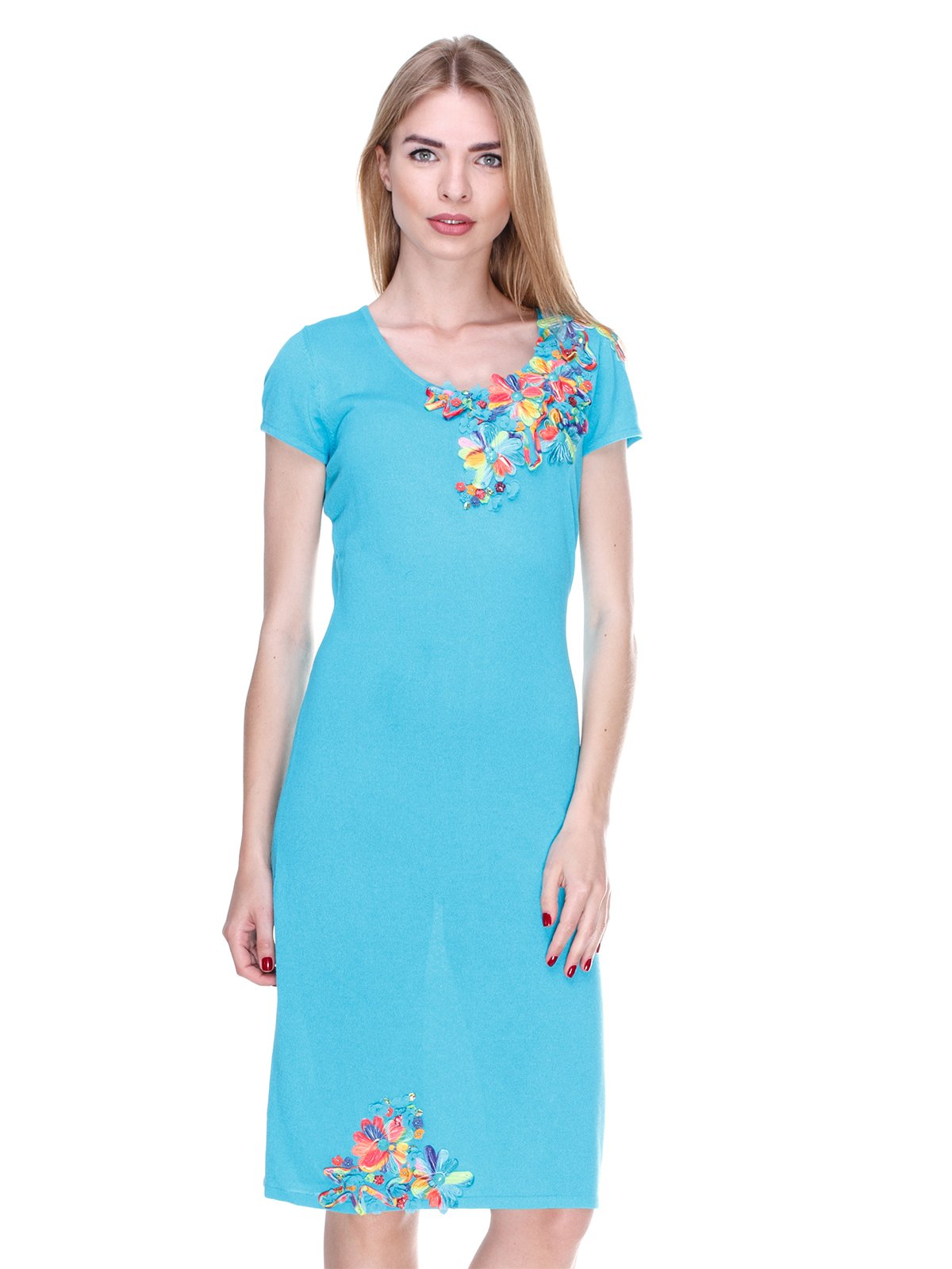Платье голубое | 2302523