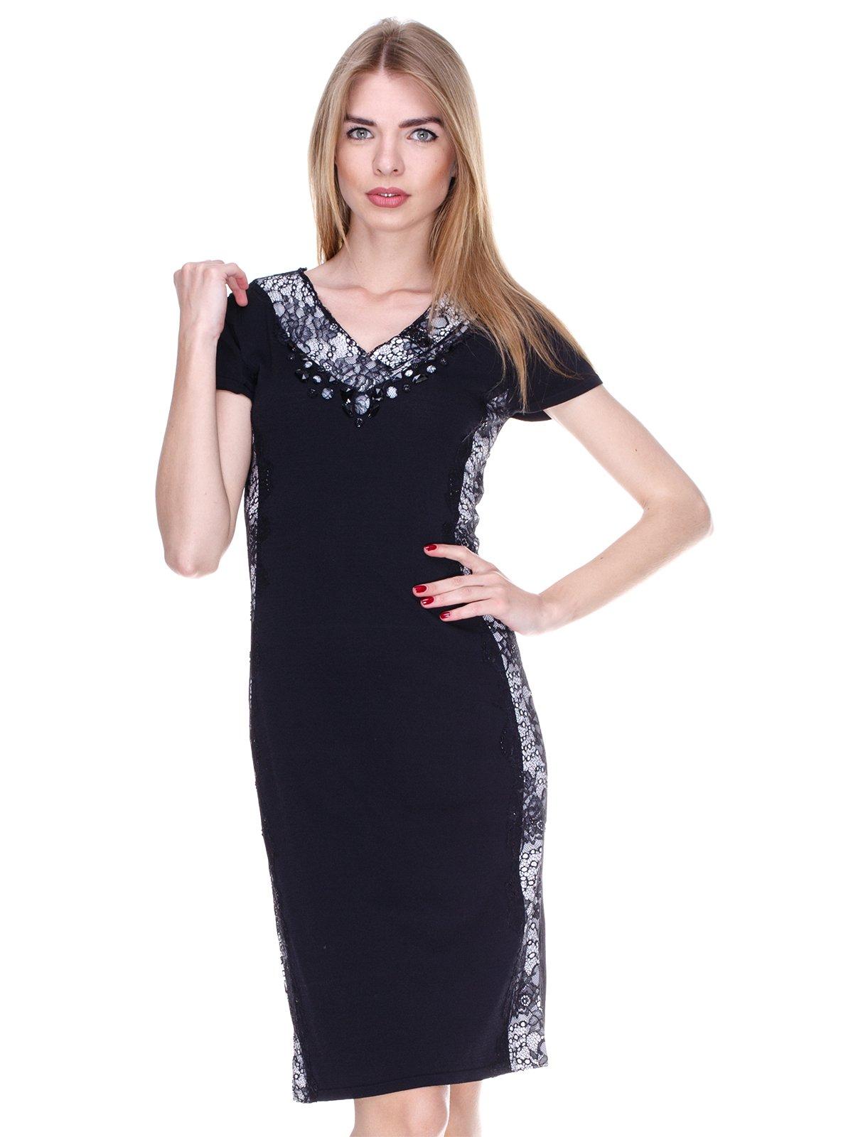 Платье черно-белое | 2302482