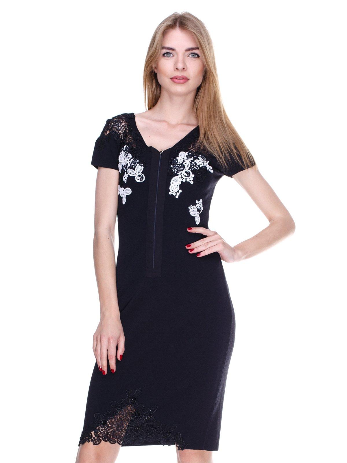 Платье черно-белое | 2302510